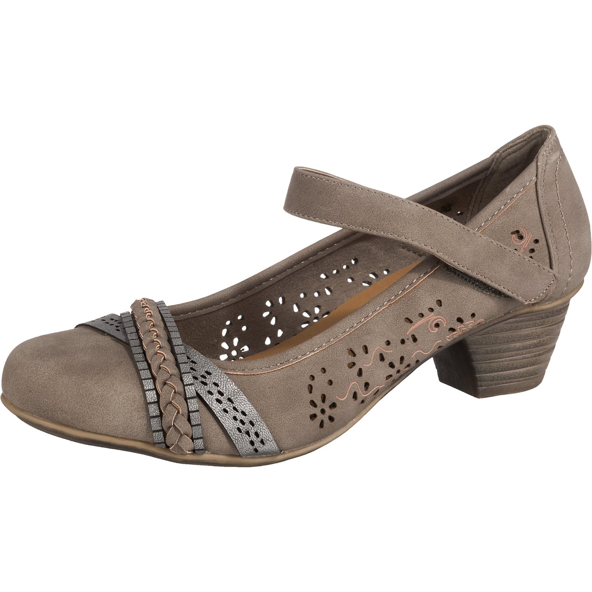 Spangenpumps | Schuhe > Pumps > Spangenpumps | Taupe | JANE KLAIN