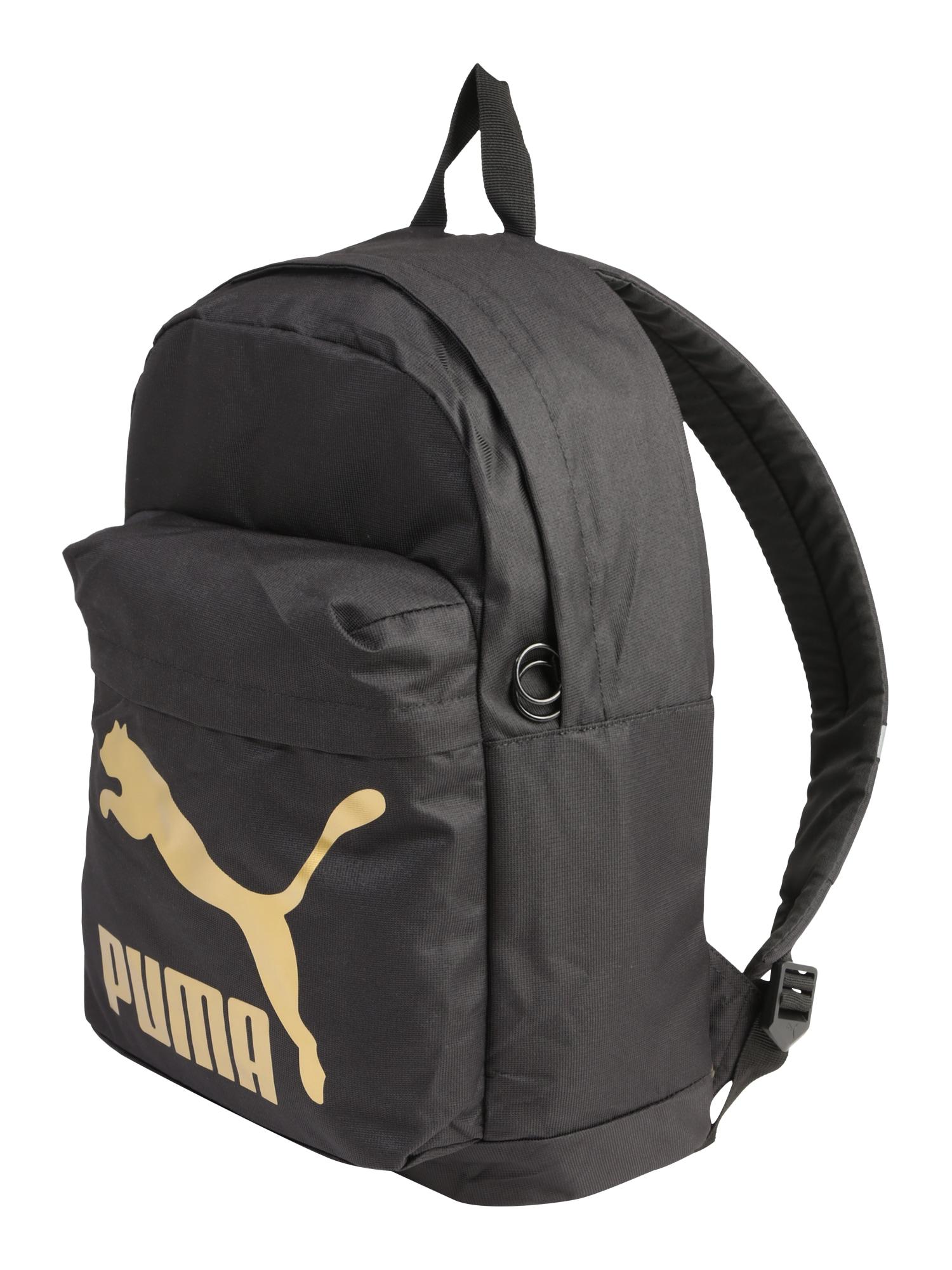 Sportovní batoh Originals Backpack zlatá černá PUMA