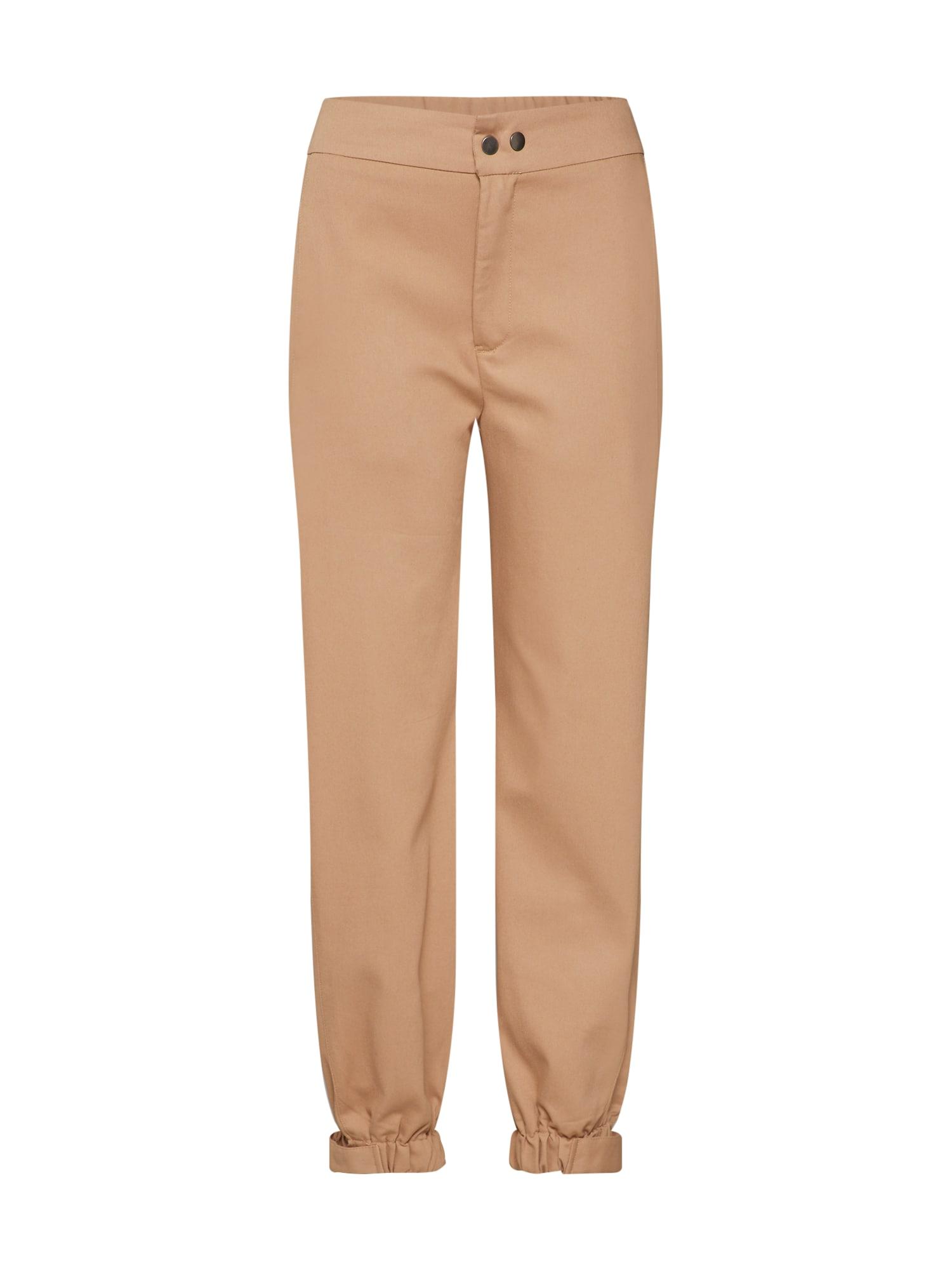 Kalhoty MISCHIEF PANT béžová Bardot