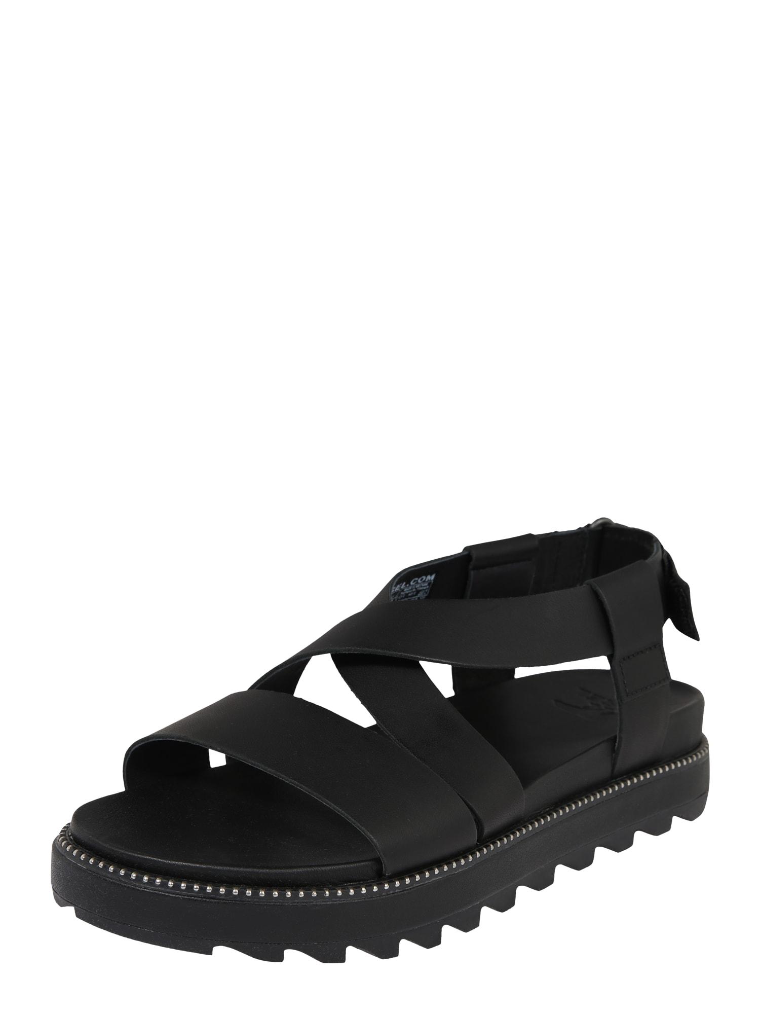 SOREL Remienkové sandále 'ROAMING '  čierna