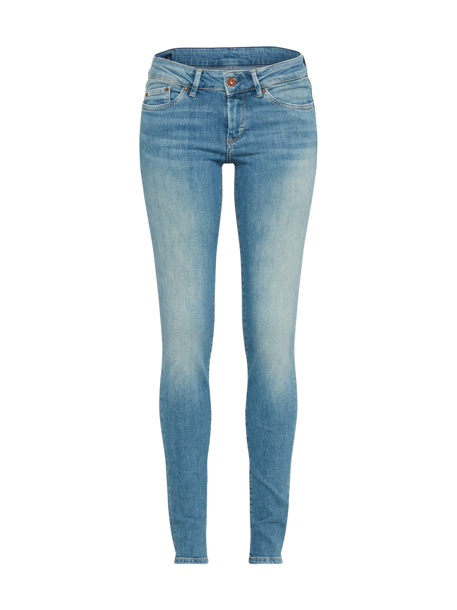 Pepe Jeans Dames Jeans Pixie lichtblauw