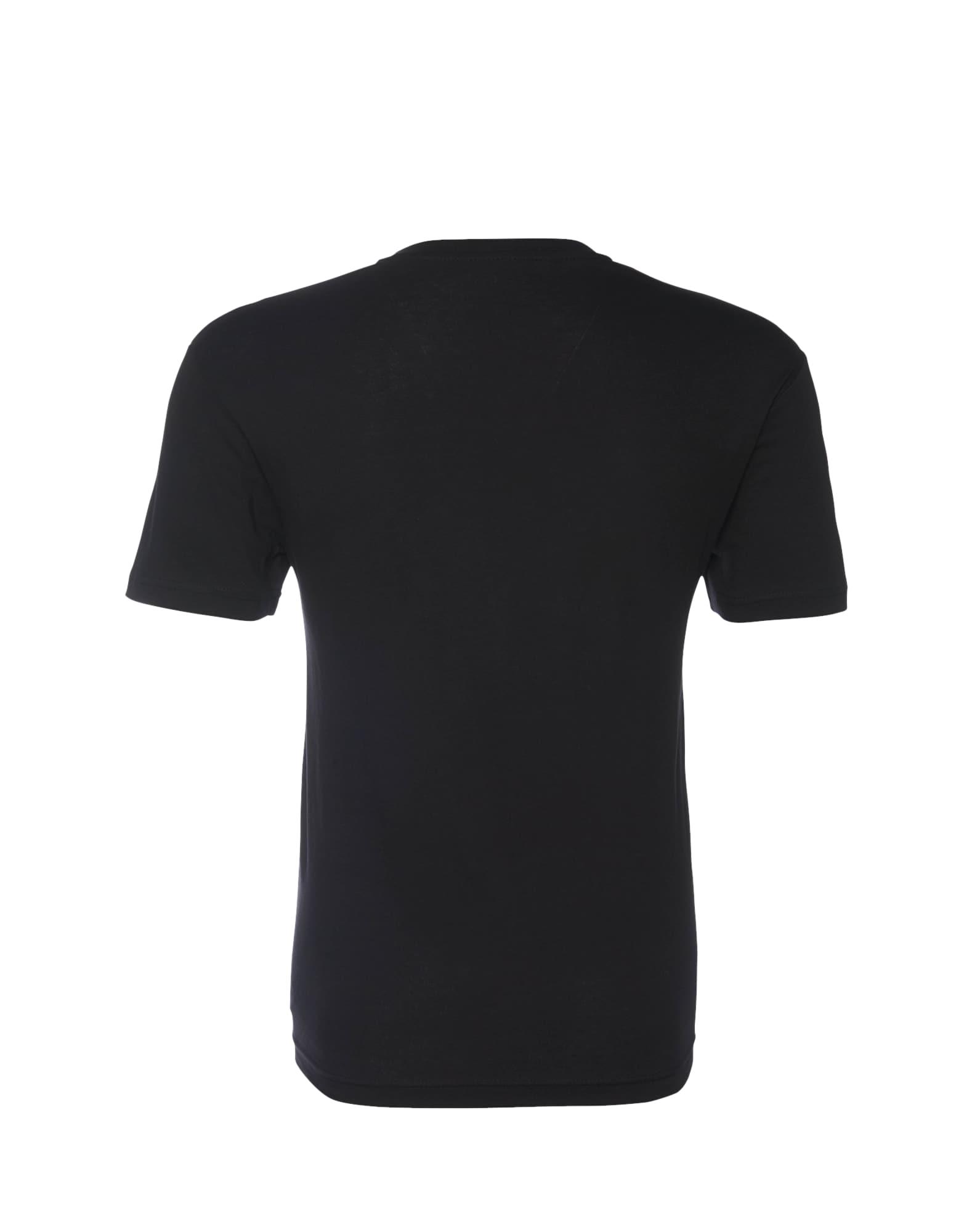 TOM TAILOR, Heren Shirt, zwart