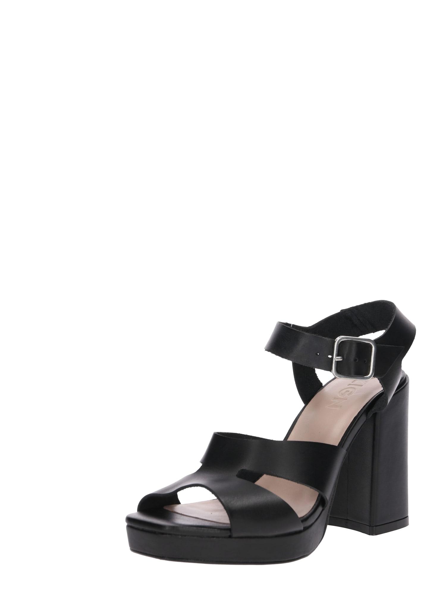 Lodičky Heeled Sandals černá Zign