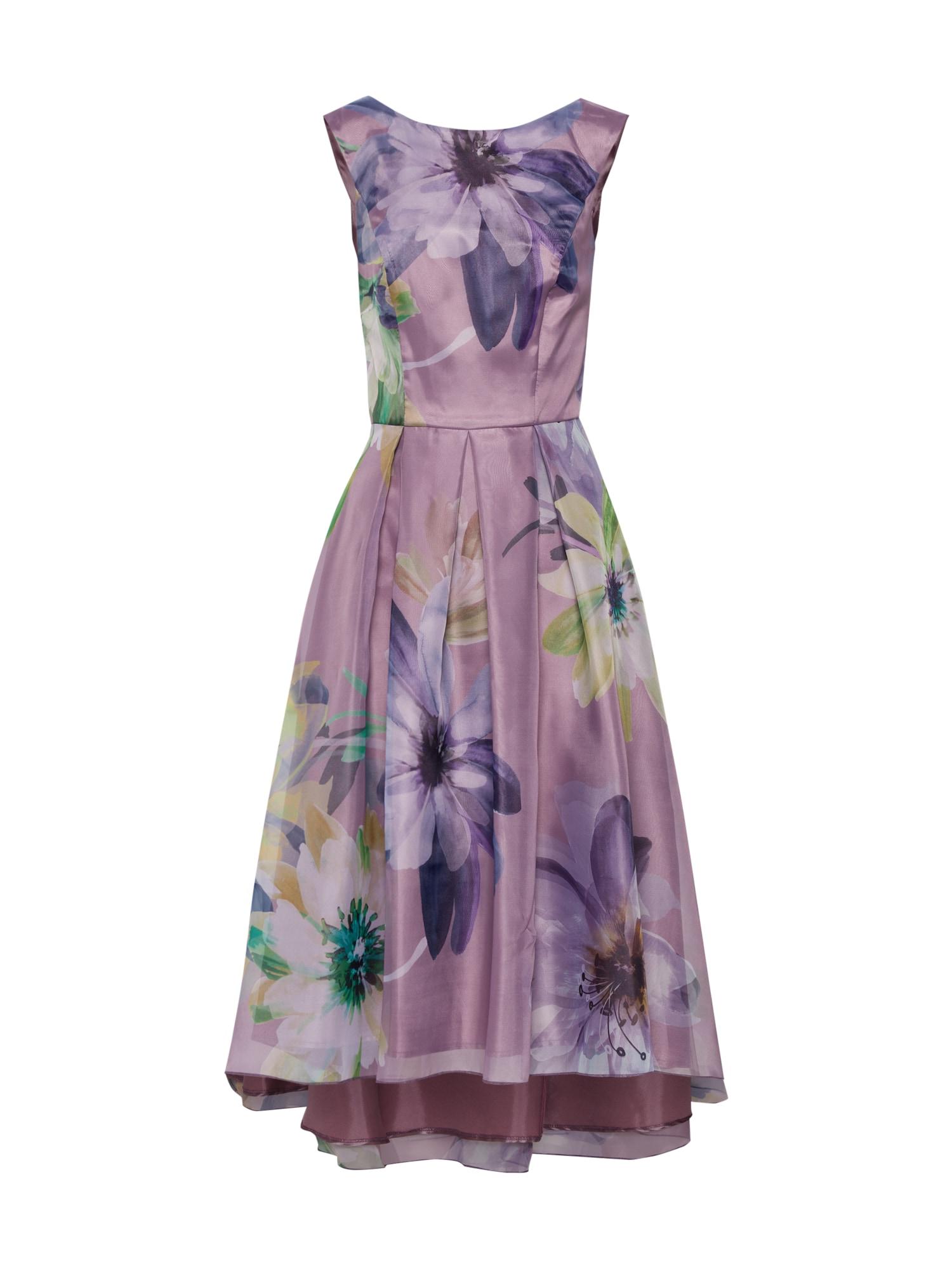 SWING Sukienka koktajlowa  fioletowo-niebieski / mieszane kolory