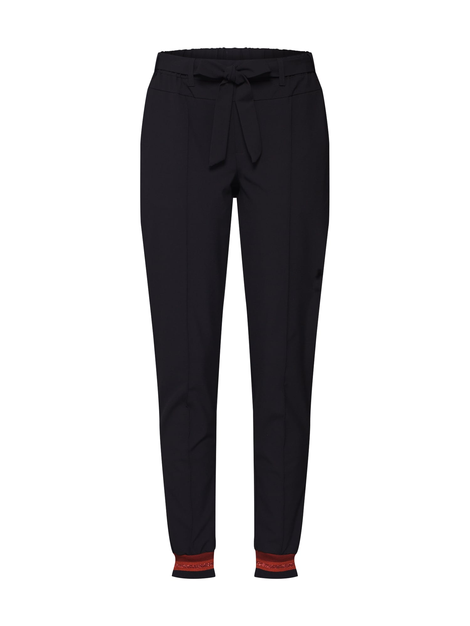 Kaffe Kalhoty 'KAmally Jillian Pants'  černá