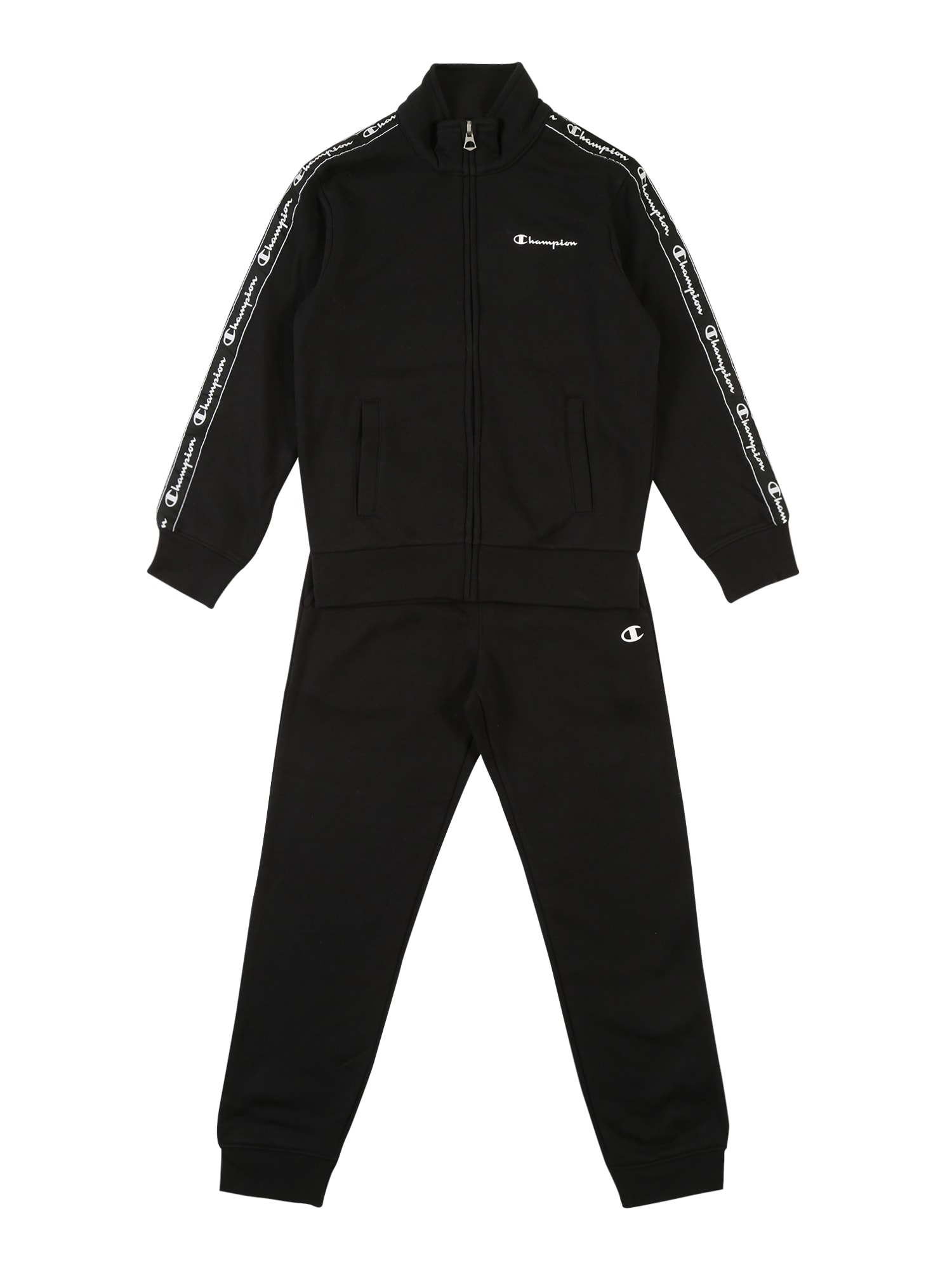 Champion Authentic Athletic Apparel Sada 'Full Zip Suit'  černá