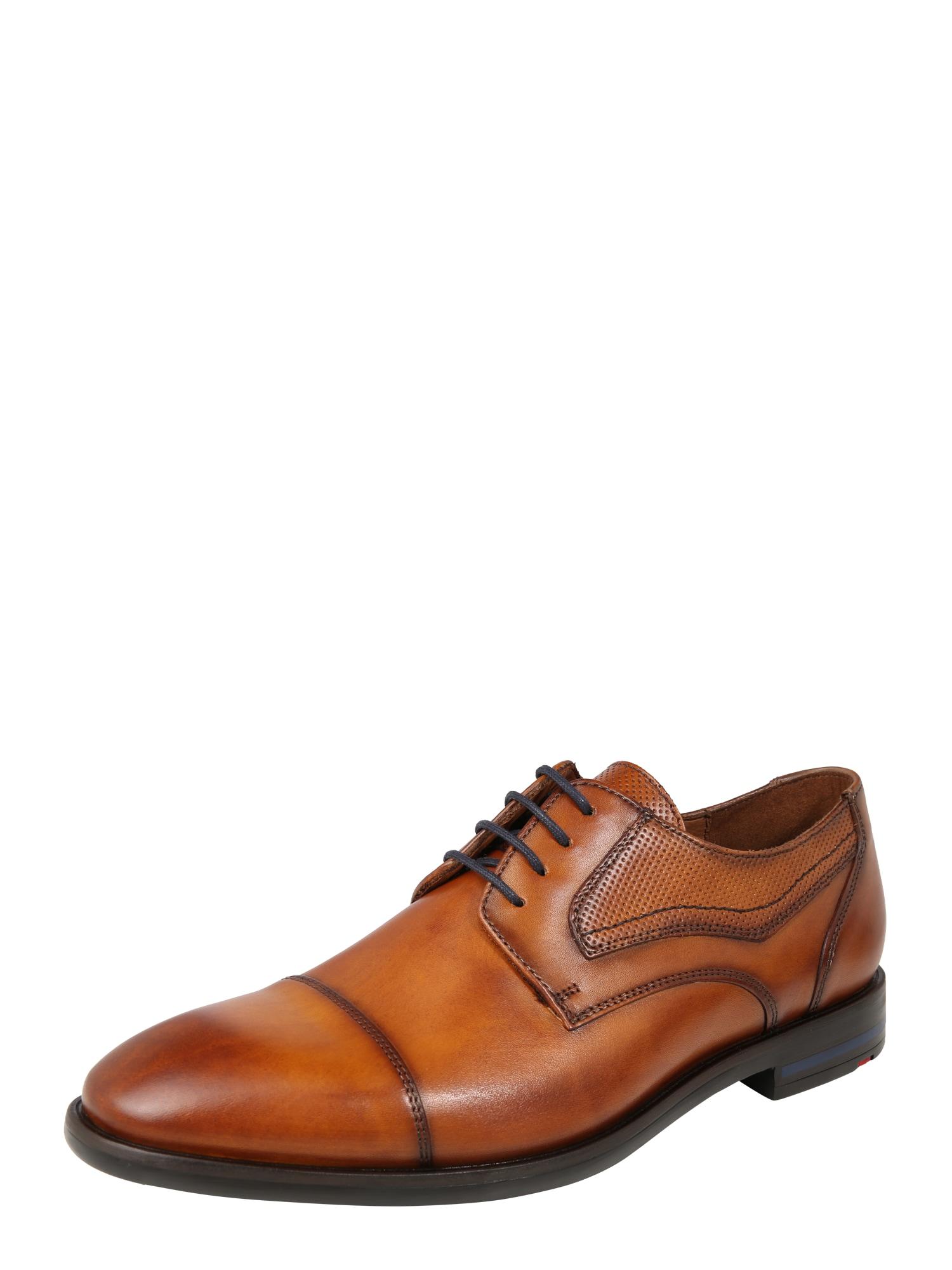 Šněrovací boty Darton koňaková LLOYD