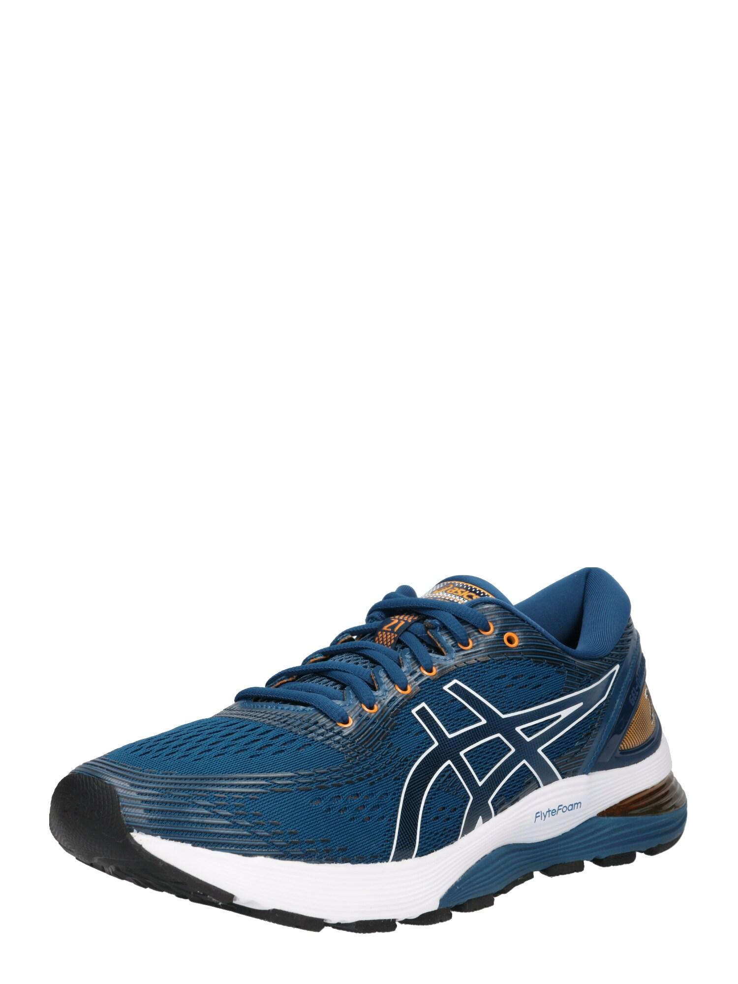Běžecká obuv Gel-Nimbus 21 modrá oranžová ASICS