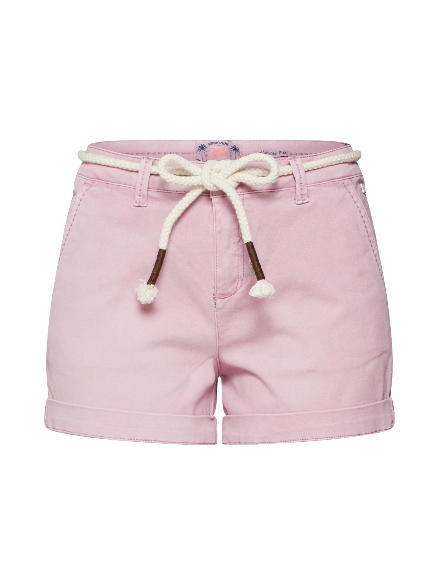 Kalhoty MARIANNE růžová Khujo