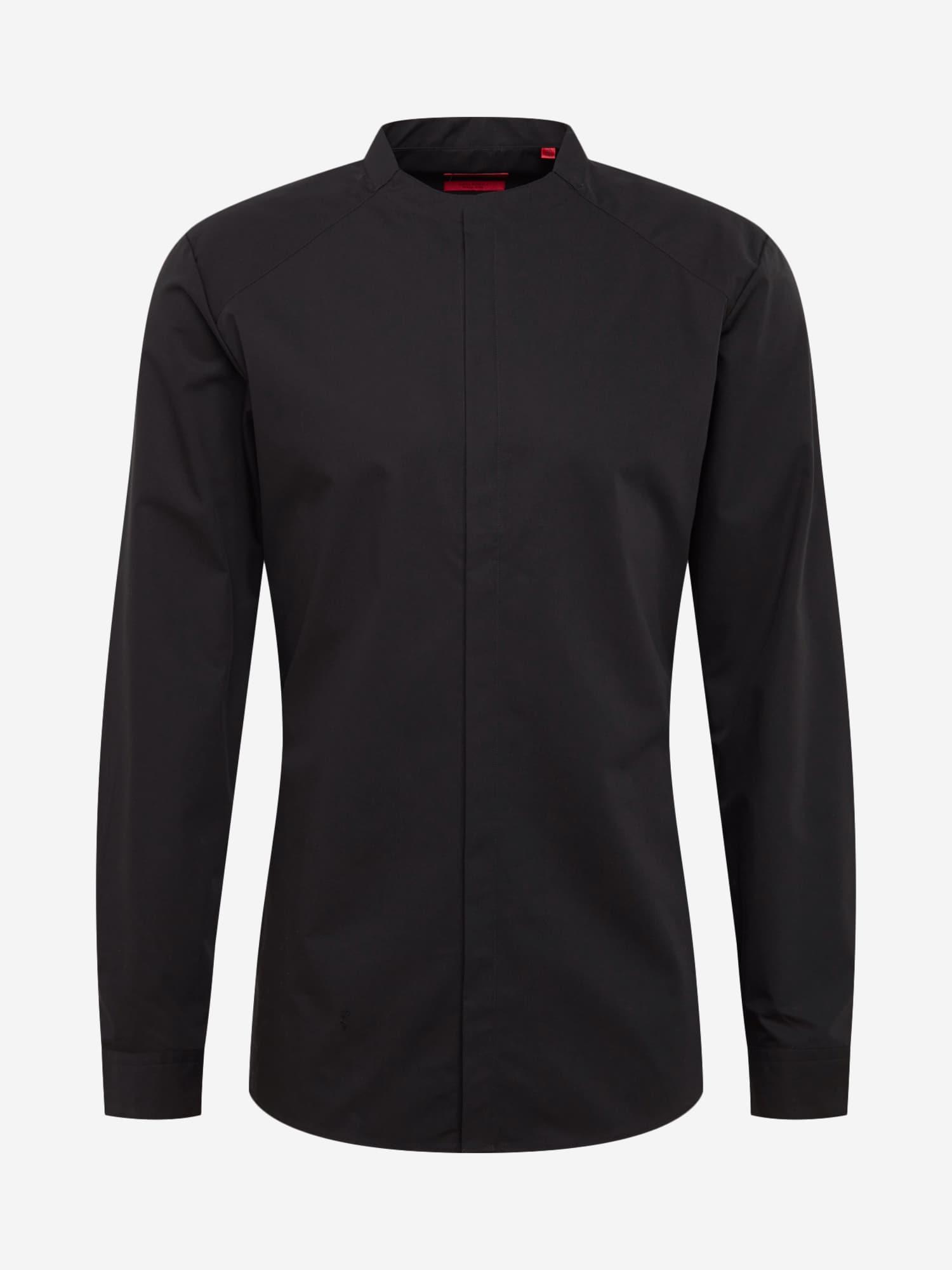 Společenská košile Ertis černá HUGO