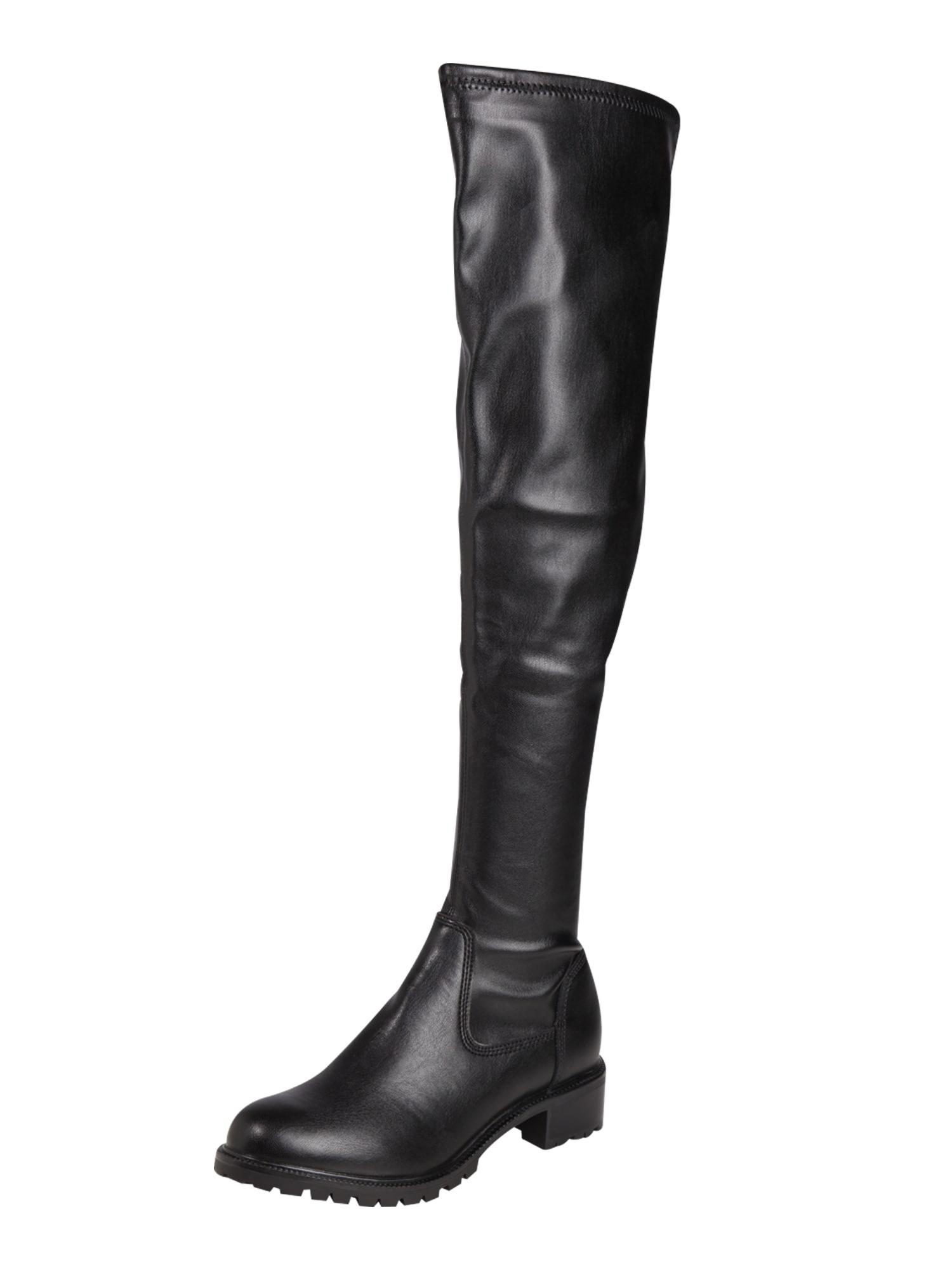 ALDO, Dames Overknee laarzen 'LARURIA', zwart