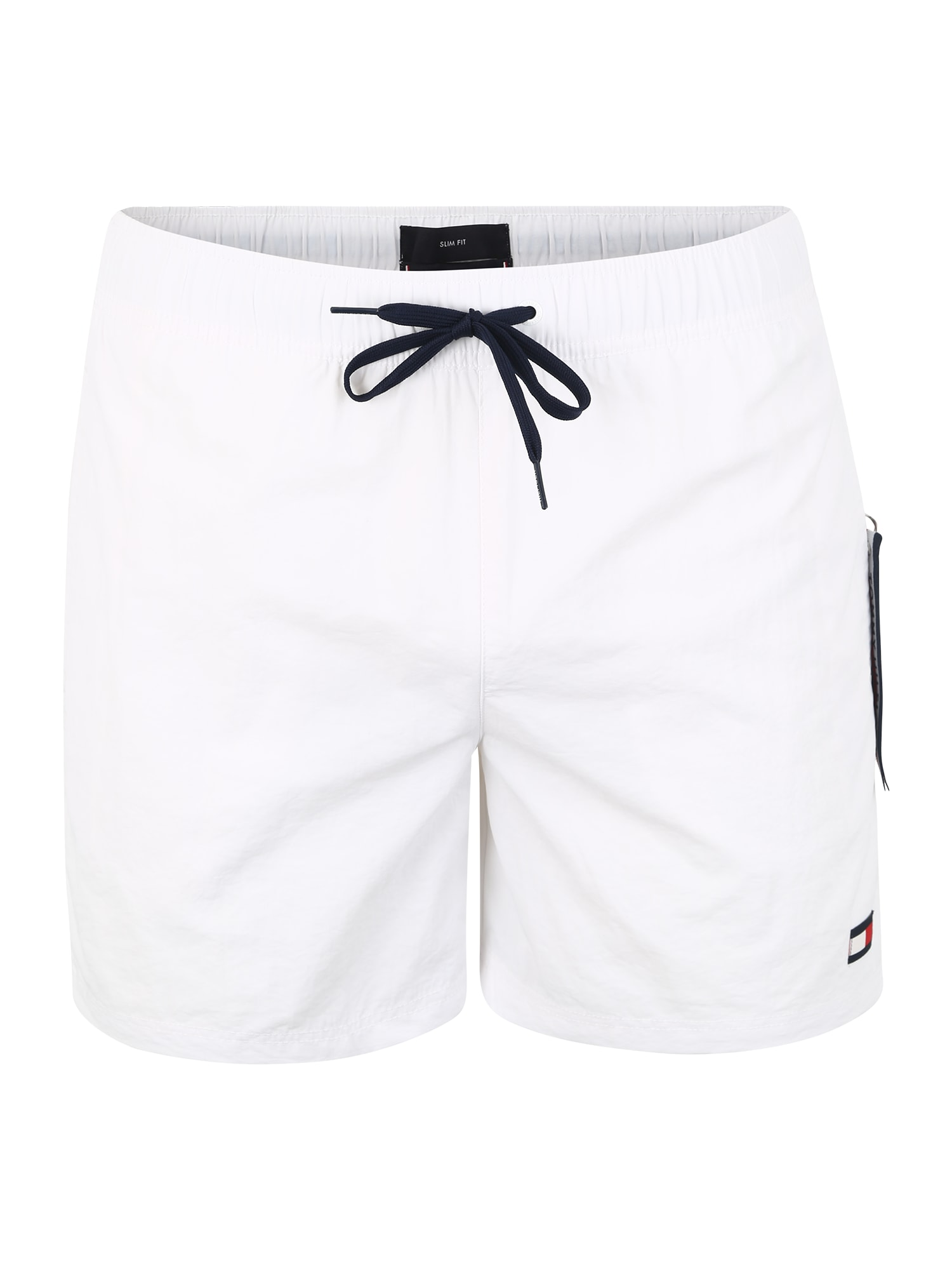 Plavecké šortky SF MEDIUM DRAWSTRING bílá Tommy Hilfiger Underwear