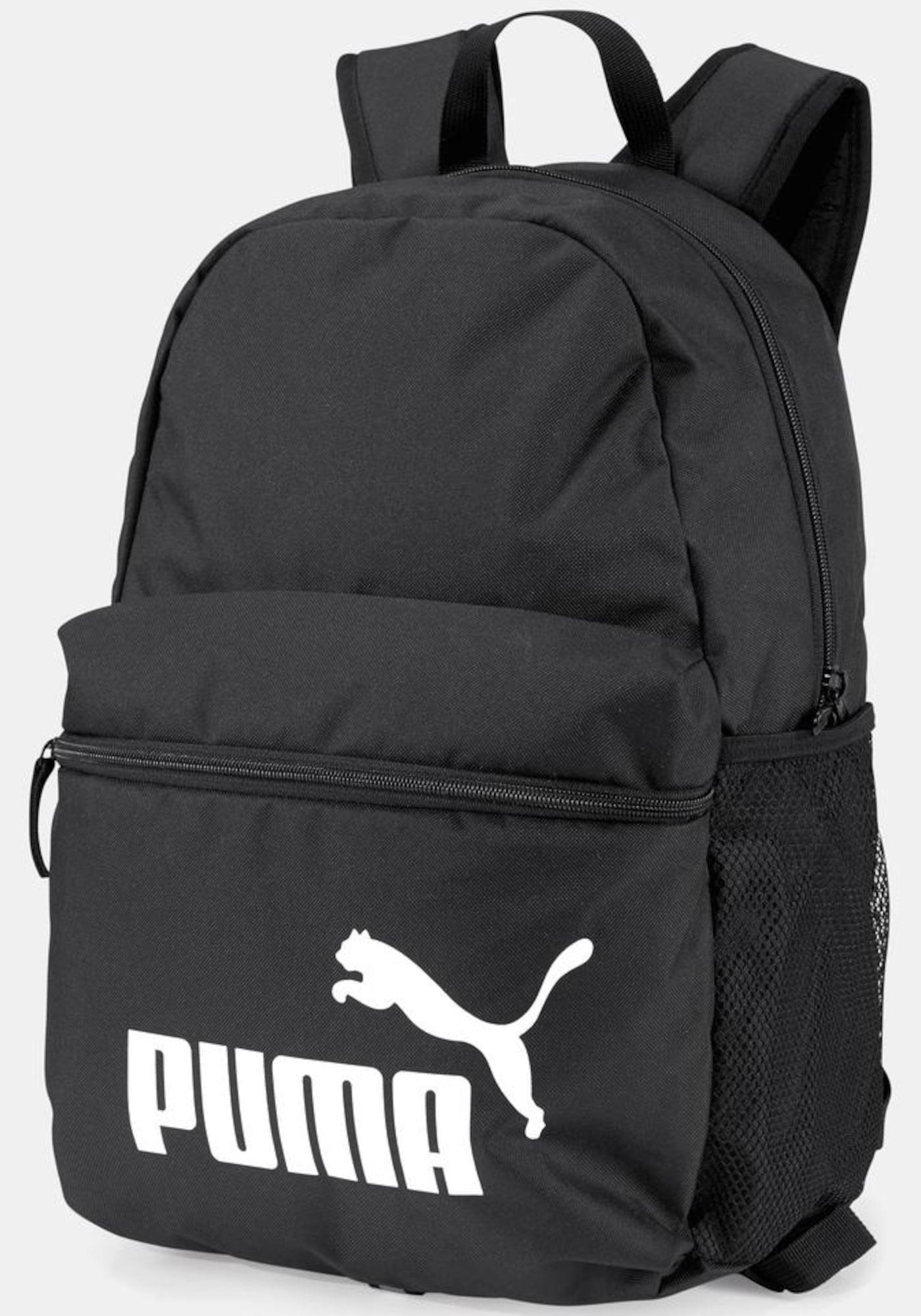 Sportovní taška PHASE BACKPACK černá bílá PUMA