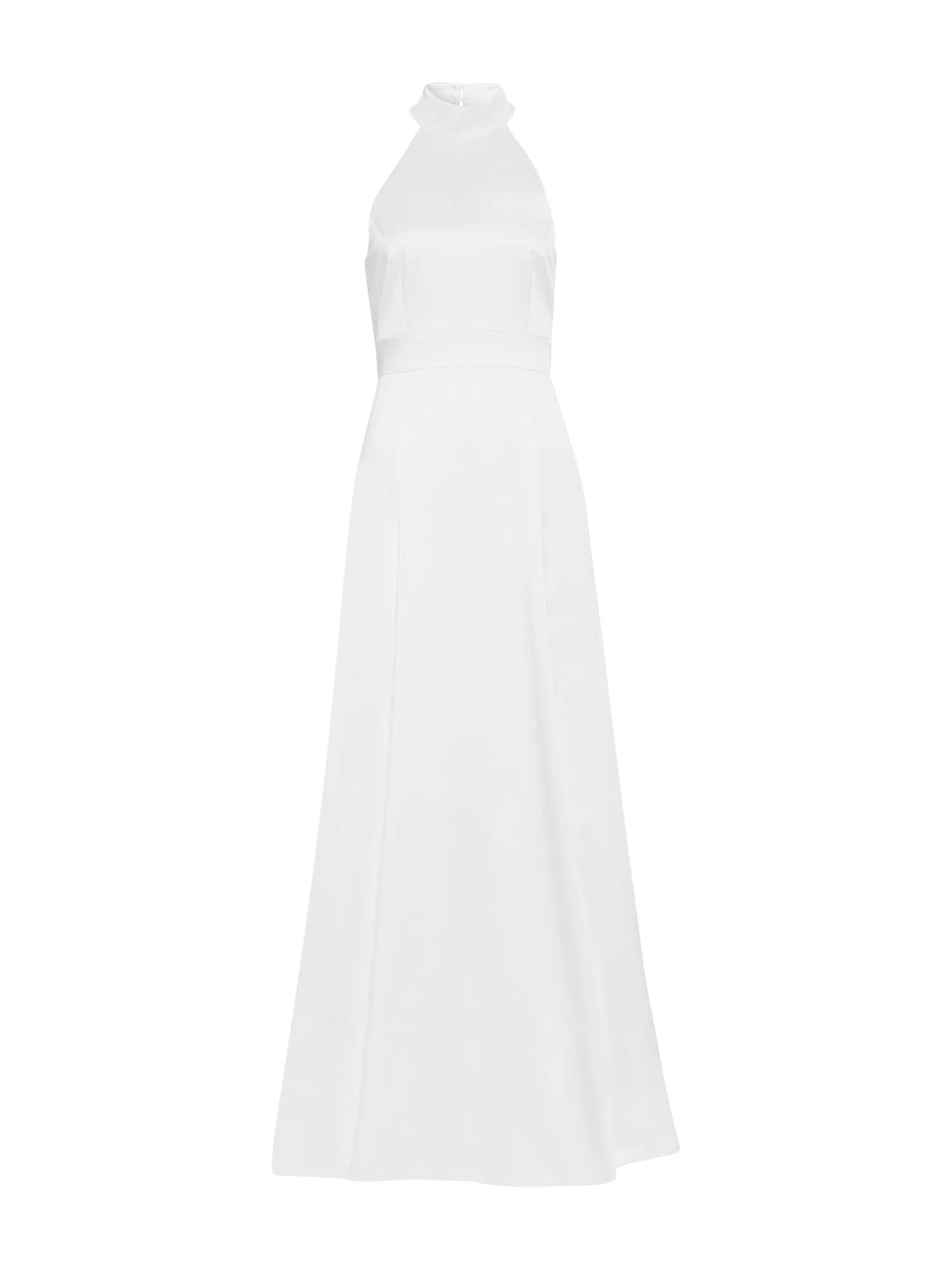 Společenské šaty Neckholder bílá IVY & OAK