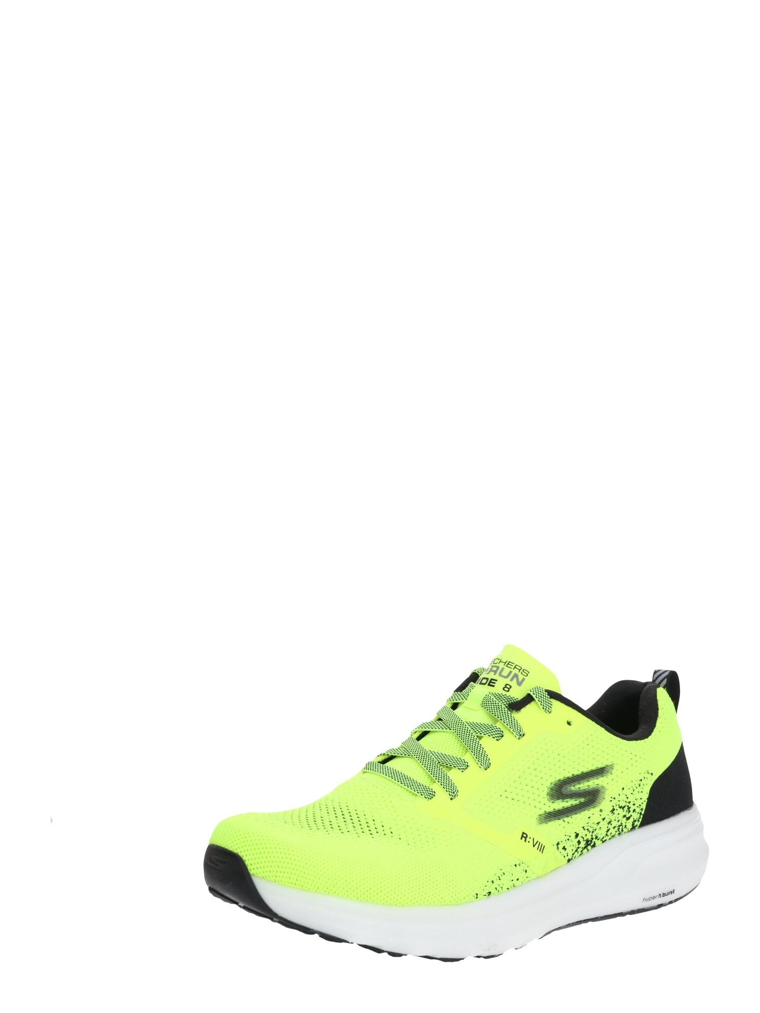 Skechers Performance Tenisky 'GO RUN RIDE 8'  černá / žlutá