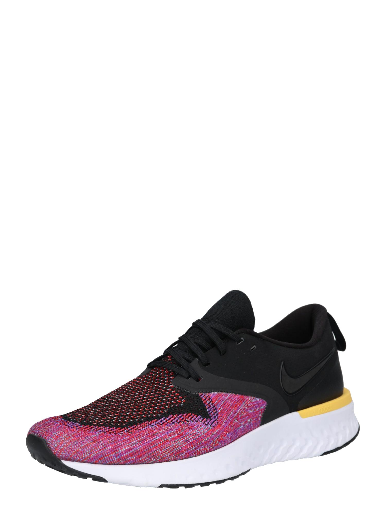 Běžecká obuv Nike Odyssey React Flyknit 2 pink černá NIKE