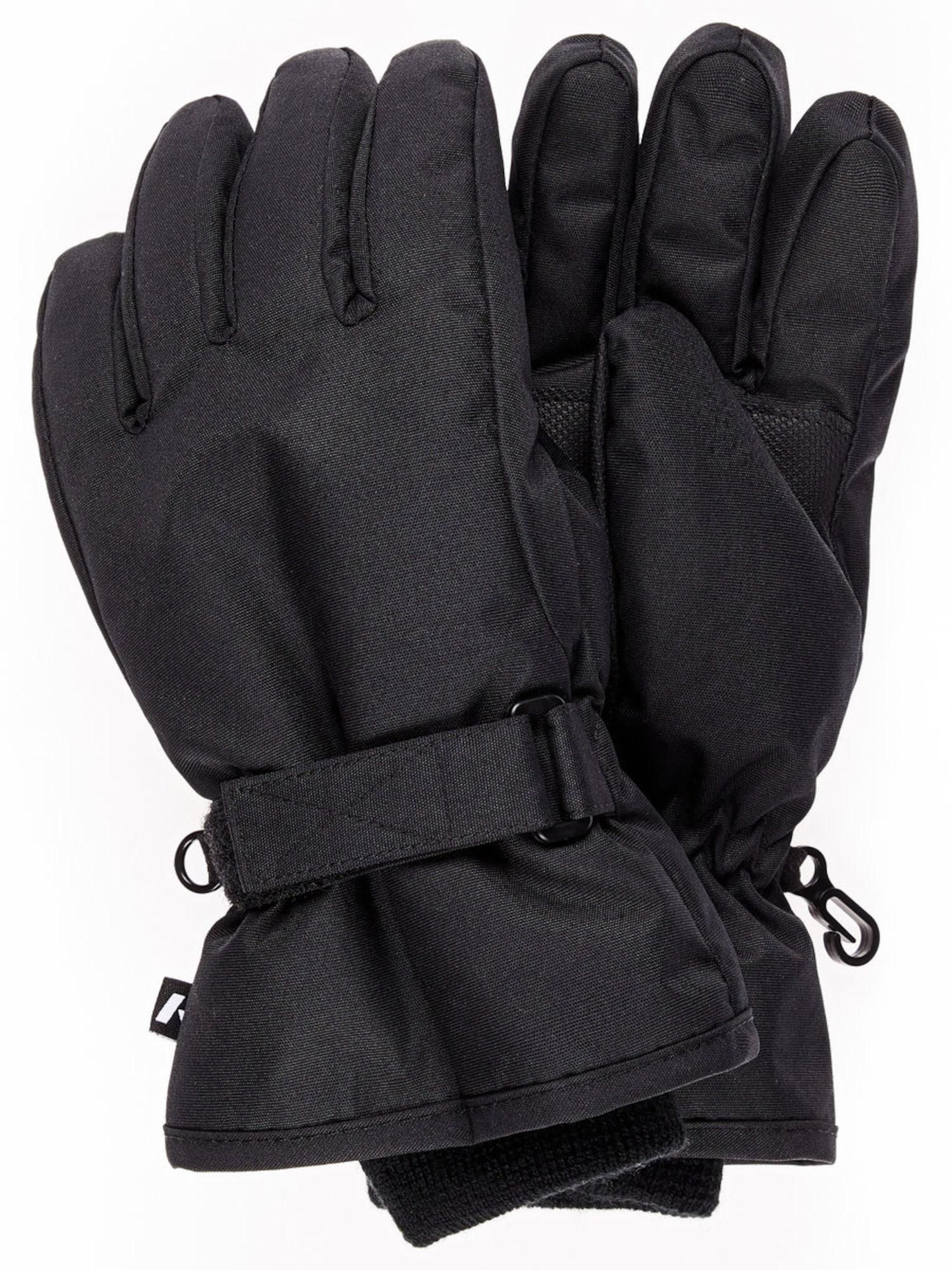 NAME IT Kids Waterbestendige Handschoenen Unisex Zwart