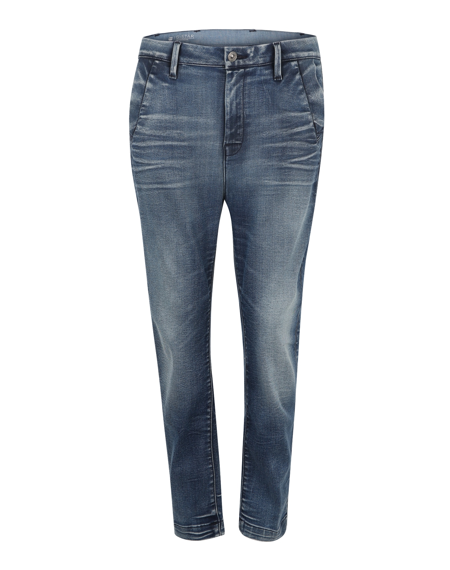 G-STAR RAW Dames Jeans Bronson Low Boyfriend donkerblauw