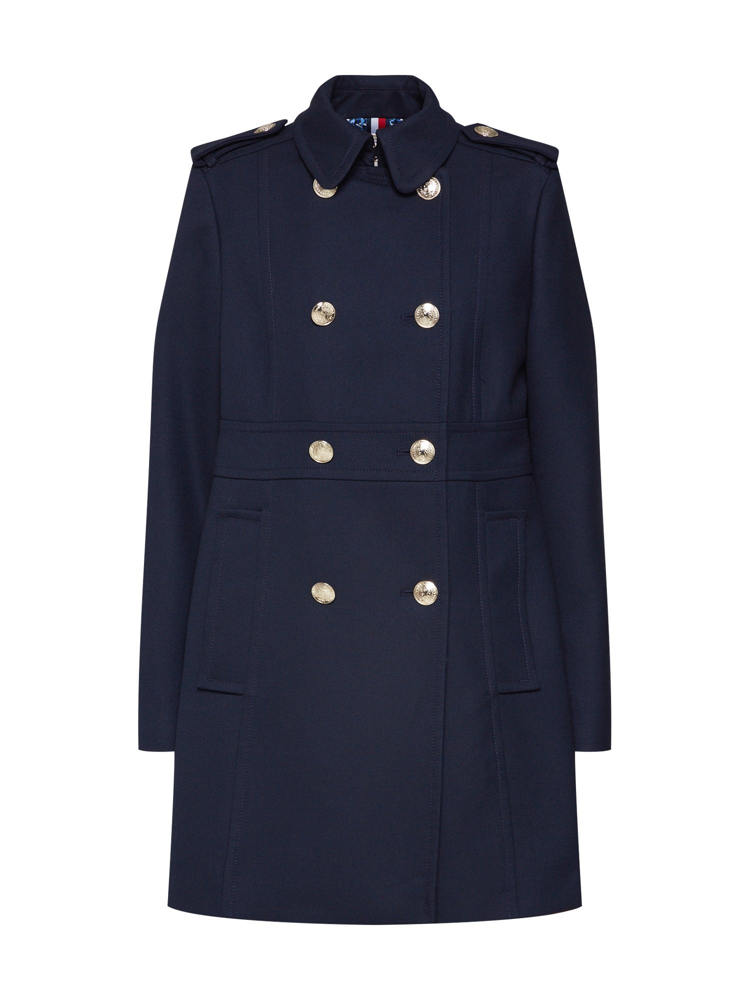 Přechodný kabát MADISON COAT tmavě modrá TOMMY HILFIGER