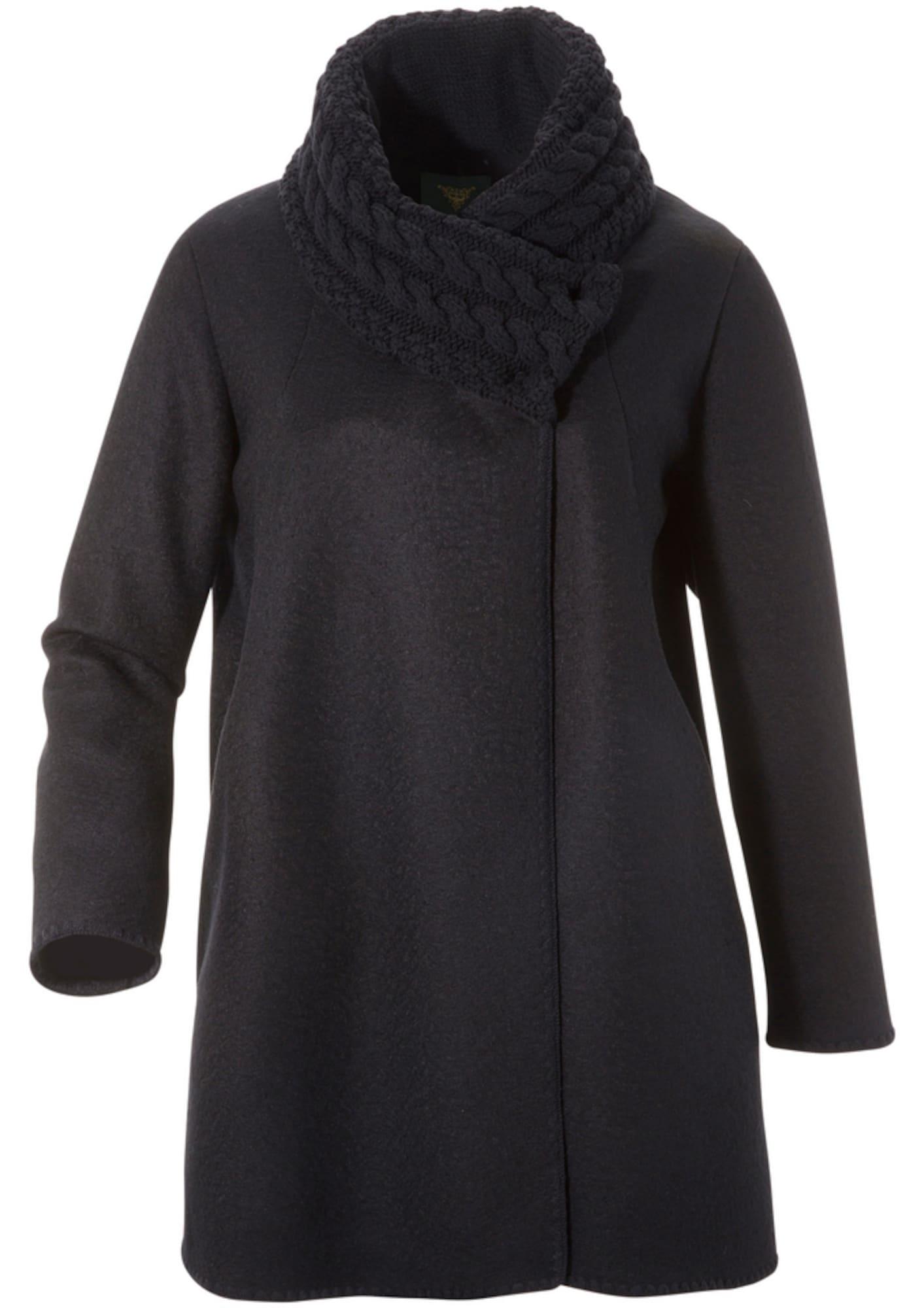 Trachtenponcho | Bekleidung > Pullover > Ponchos & Capes | Schwarz | H.Moser