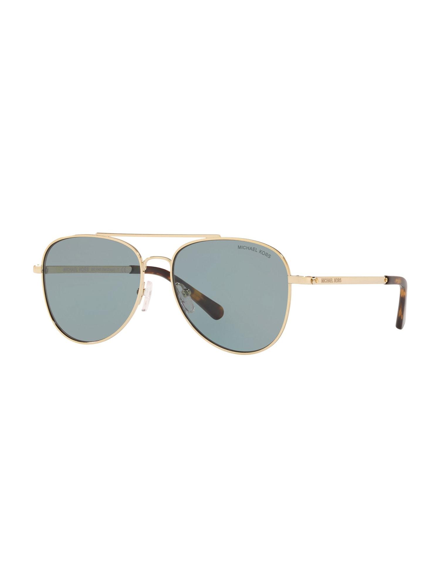 Michael Kors Sluneční brýle 'SAN DIEGO'  černá / zlatá