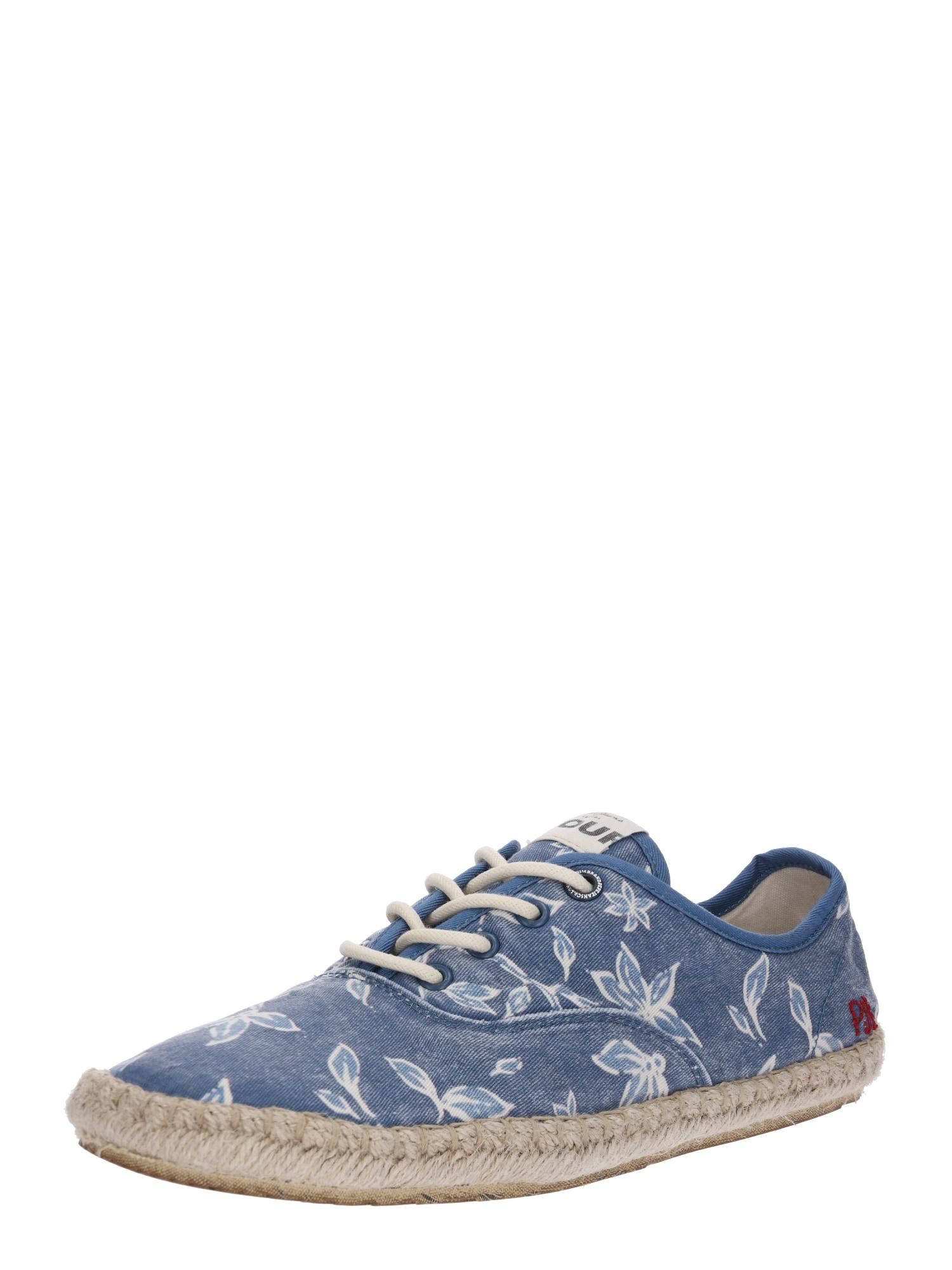 Šněrovací boty Tourist-Er Print nebeská modř Pepe Jeans