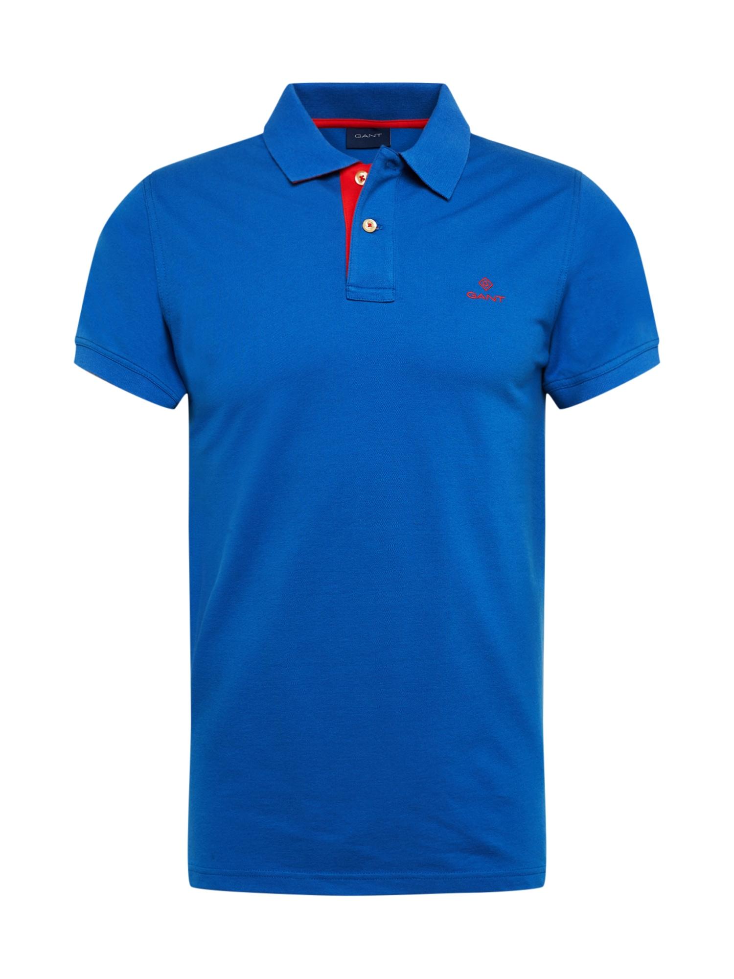 GANT Tričko  tmavě modrá