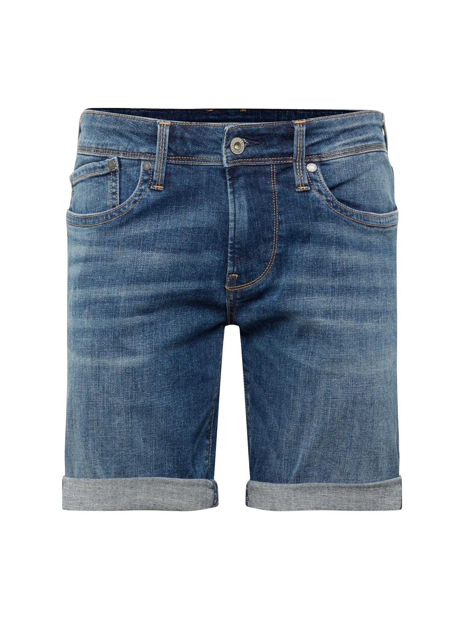 Džíny HATCH SHORT modrá džínovina Pepe Jeans