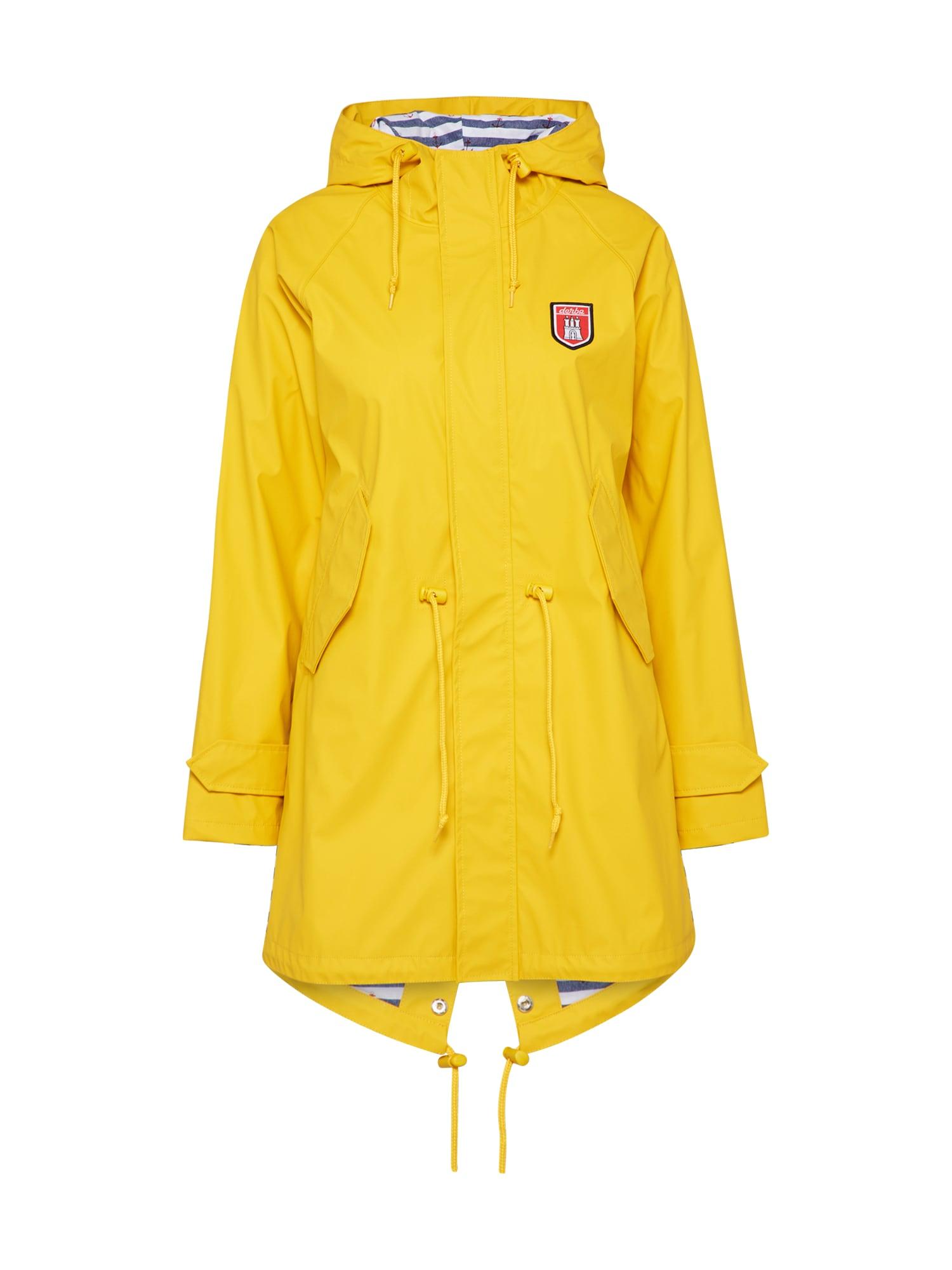 Regenmantel | Sportbekleidung > Sportmäntel | Gelb | Derbe