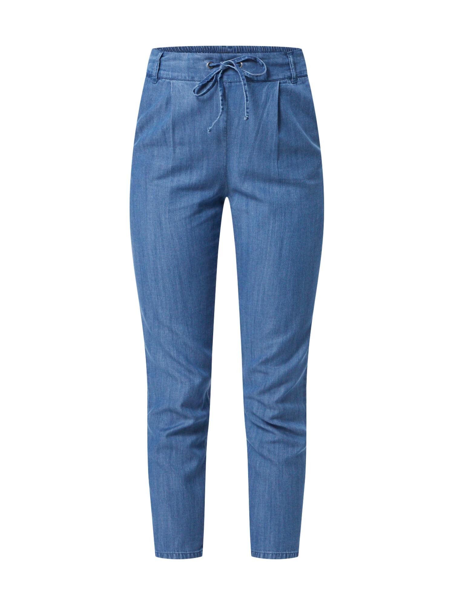 Kalhoty POPTRASH DENIM modrá džínovina ONLY