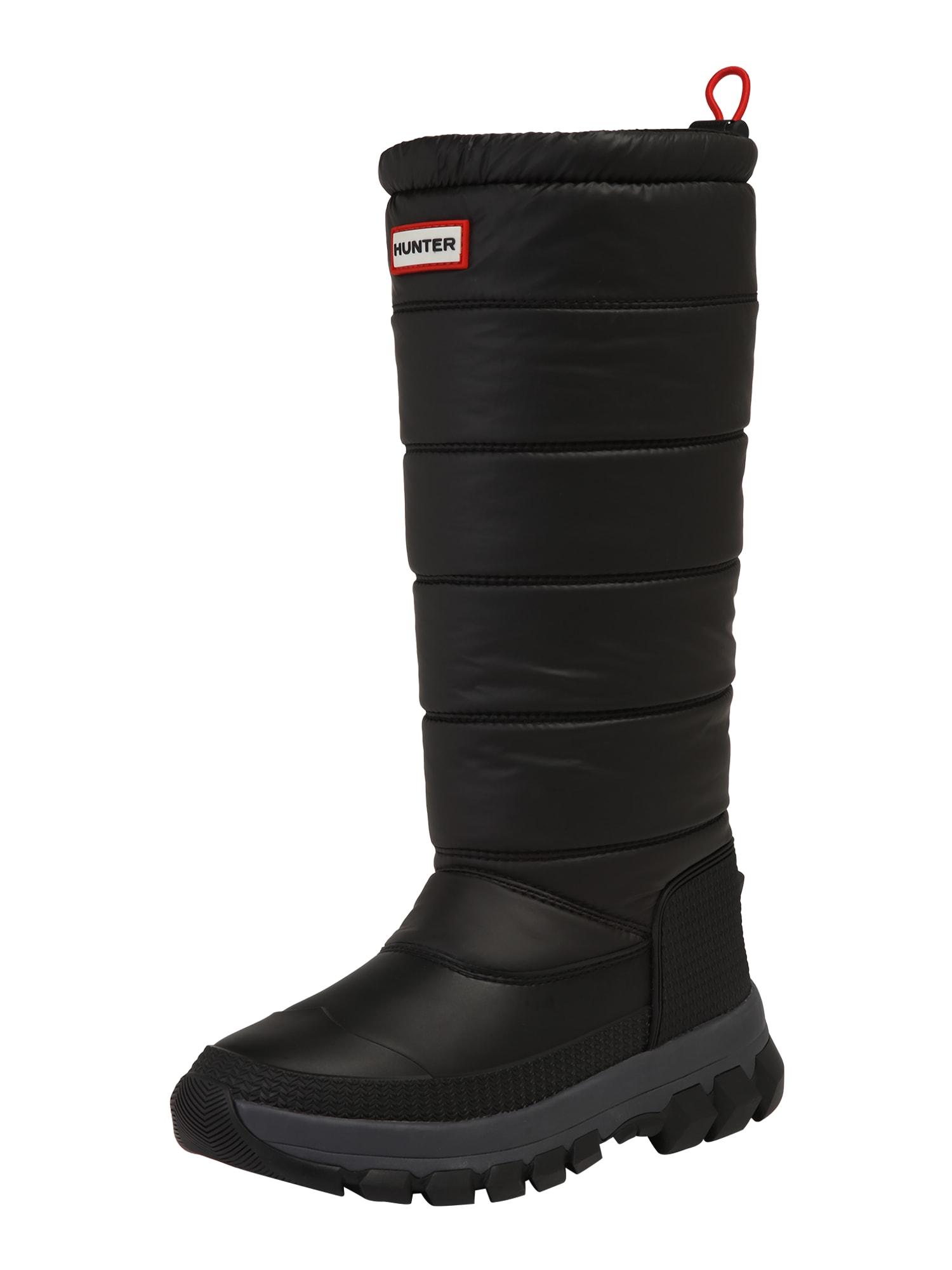 Stiefel 'WOMENS ORIGINAL INSULATED SNOW BOOT TALL' | Schuhe > Boots > Snowboots | Hunter
