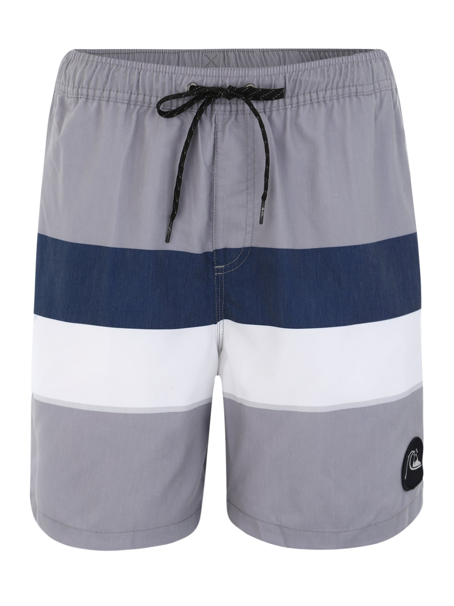 Plavecké šortky SEASONSVOL17 M JAMV tmavě modrá světle šedá bílá QUIKSILVER