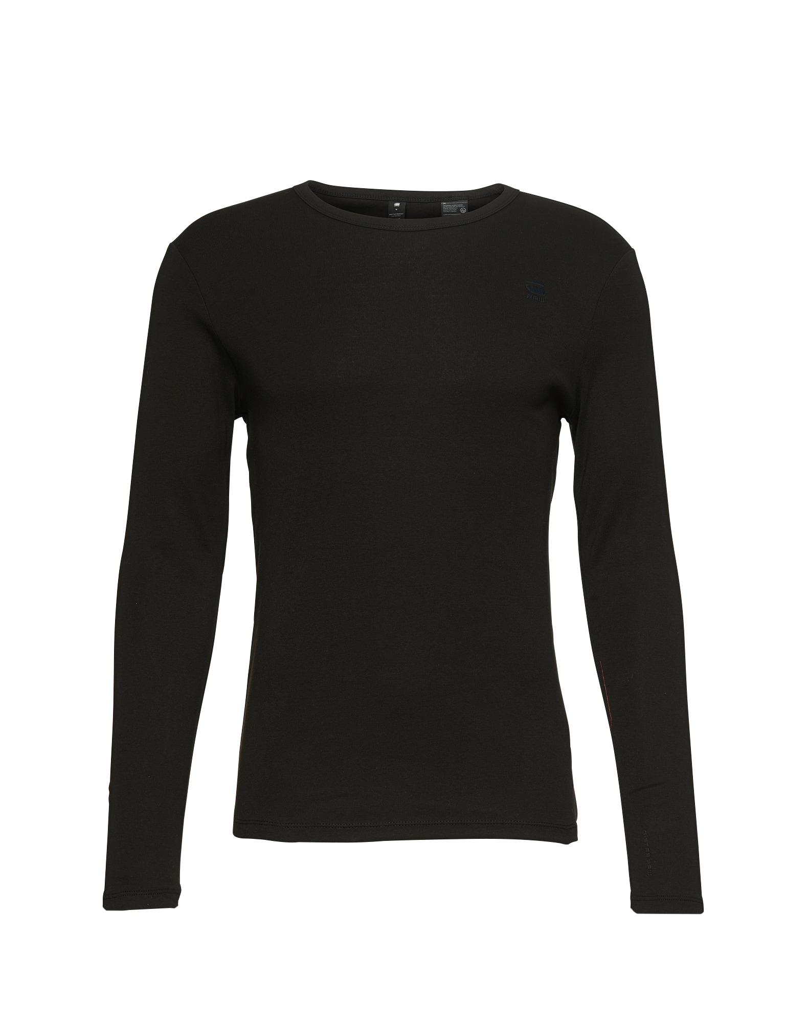 Langarmshirt in Slim Fit 'Base R T L/S' | Bekleidung > Shirts > Langarm Shirts | G-Star Raw