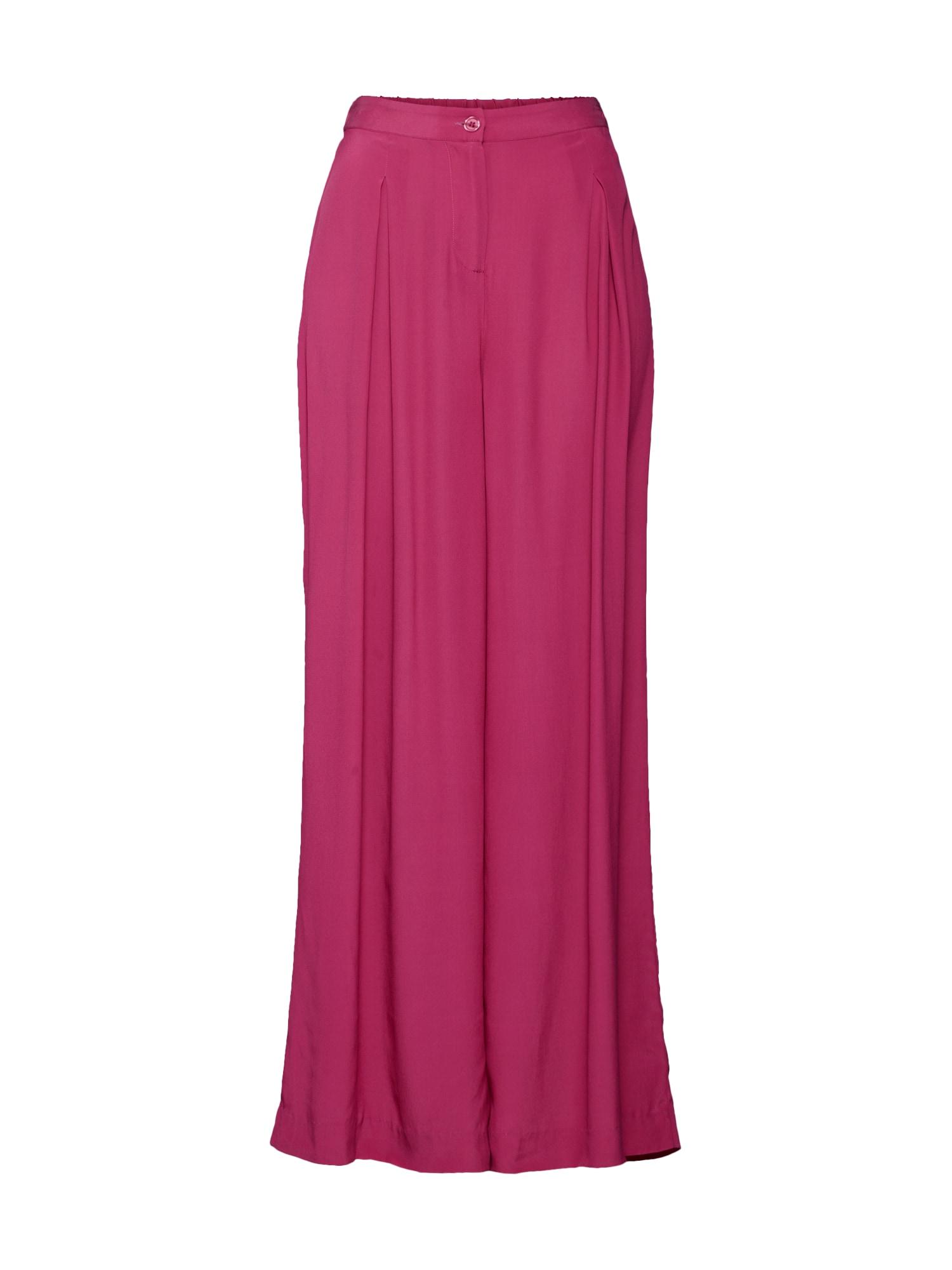 Kalhoty Less tmavě růžová SAND COPENHAGEN
