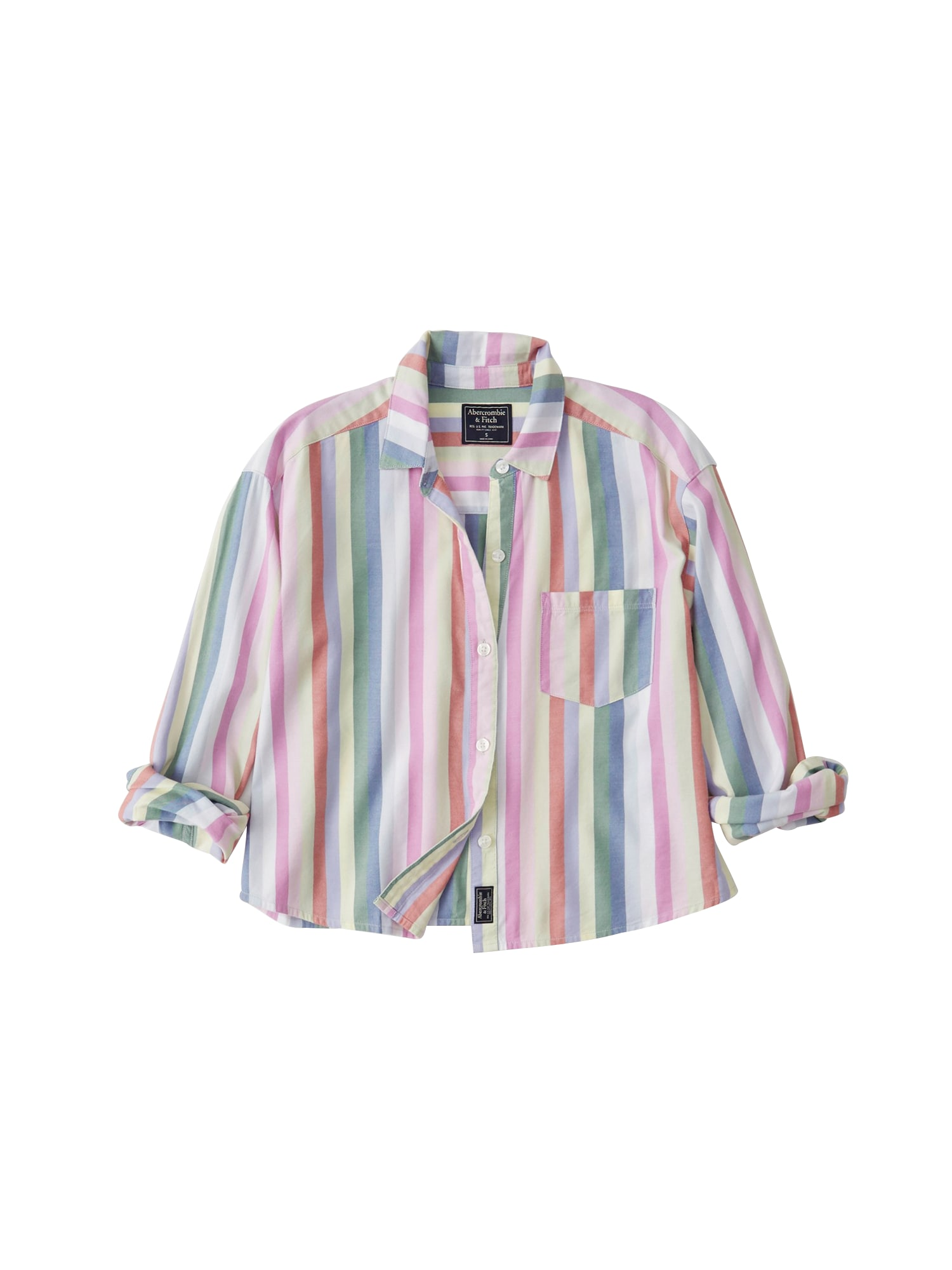 Halenka SB19-CUTOFF PREPPY SHIRT mix barev Abercrombie & Fitch