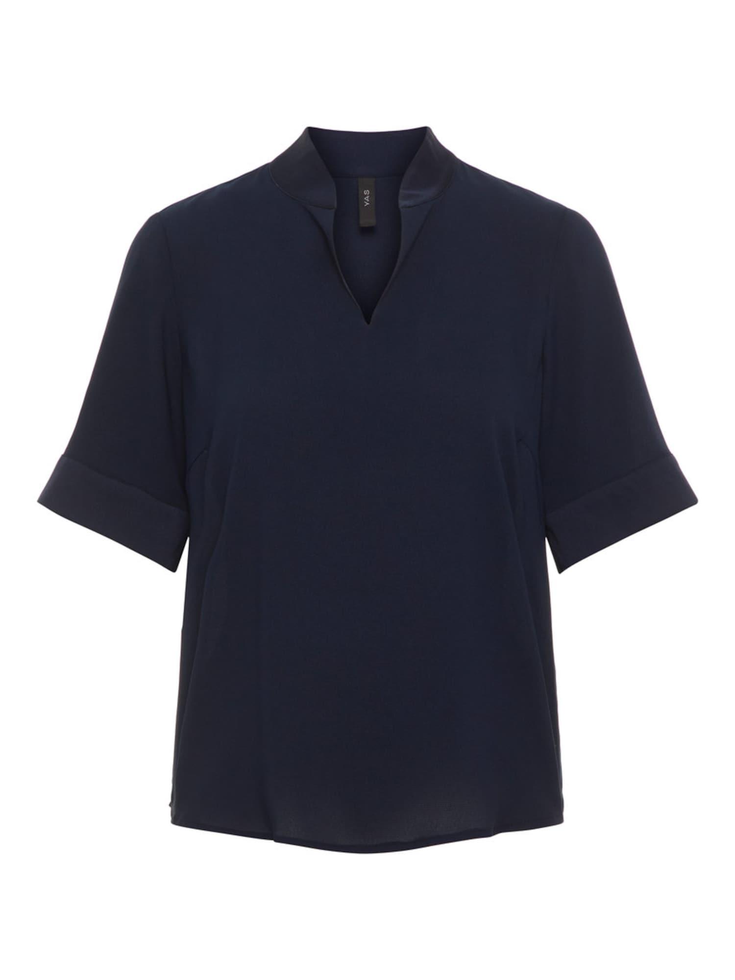 Y.A.S V-hals T-shirt Dames Blauw