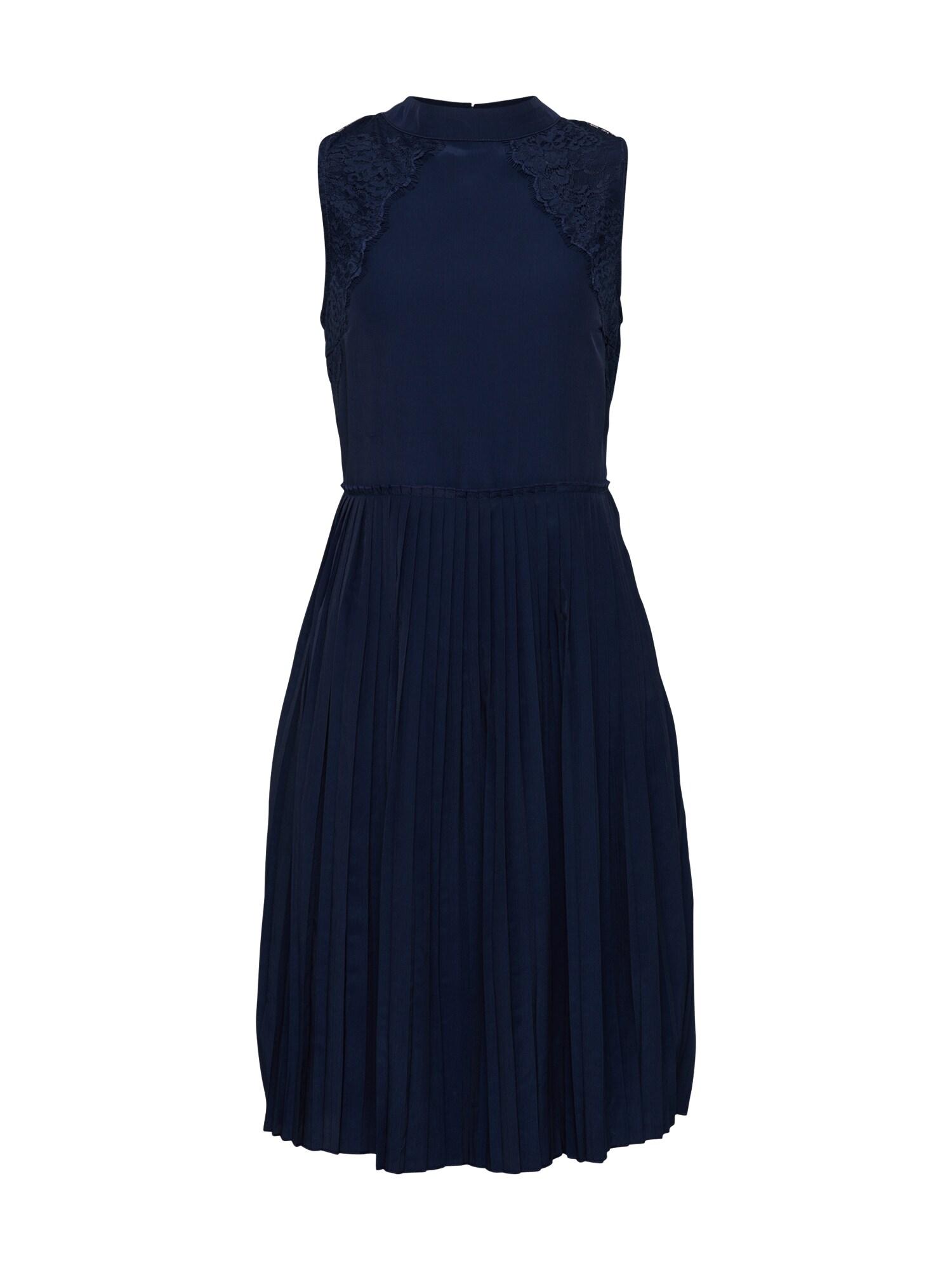 Koktejlové šaty Stine námořnická modř Blend She