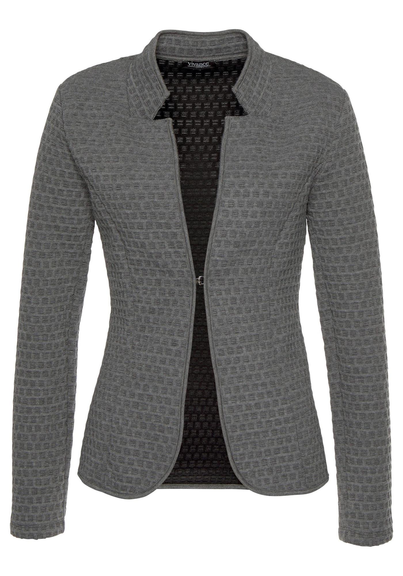 Jackenblazer | Bekleidung > Blazer > Jackenblazer | Grau | VIVANCE