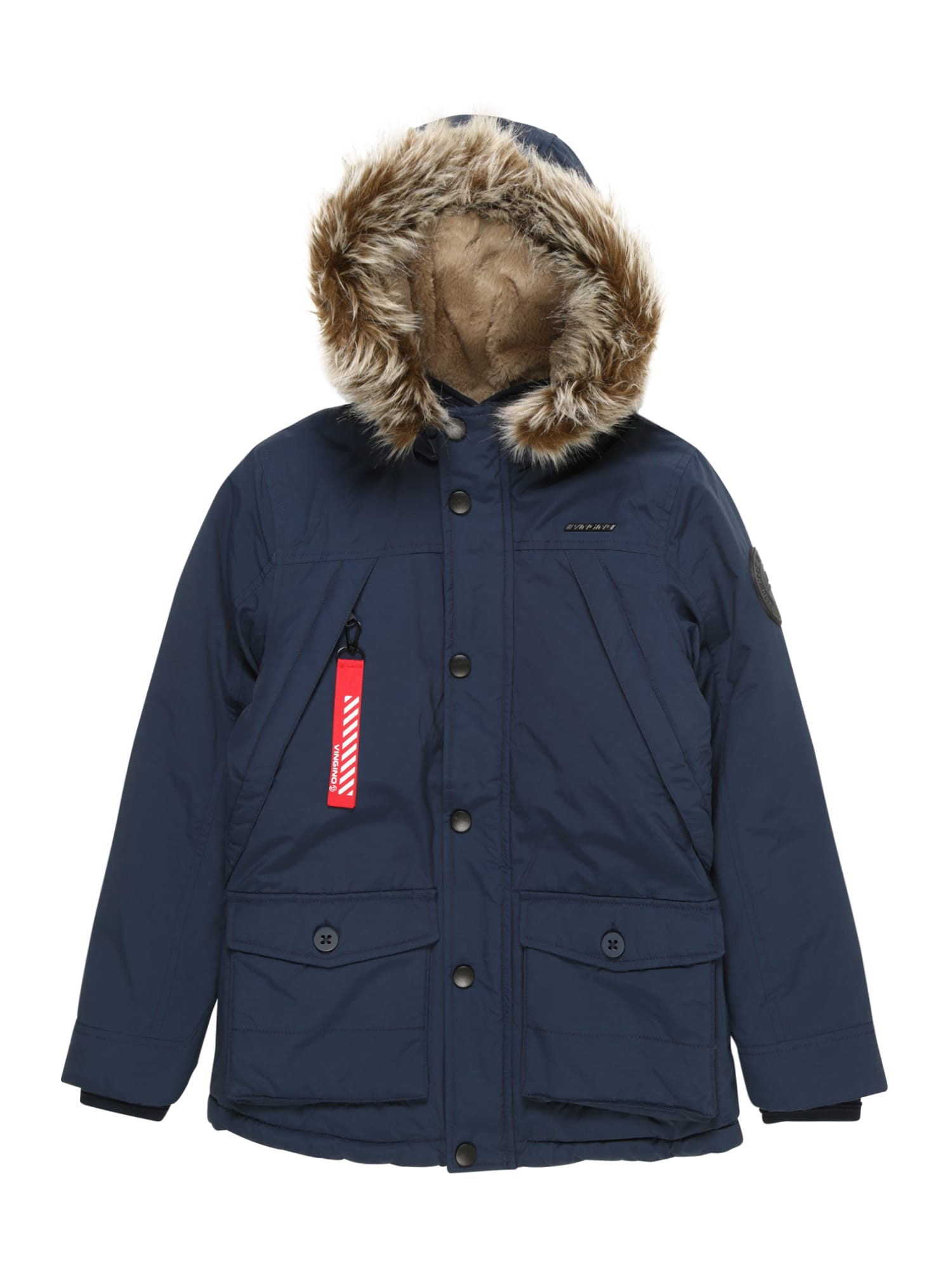 Přechodná bunda Thibaut tmavě modrá VINGINO