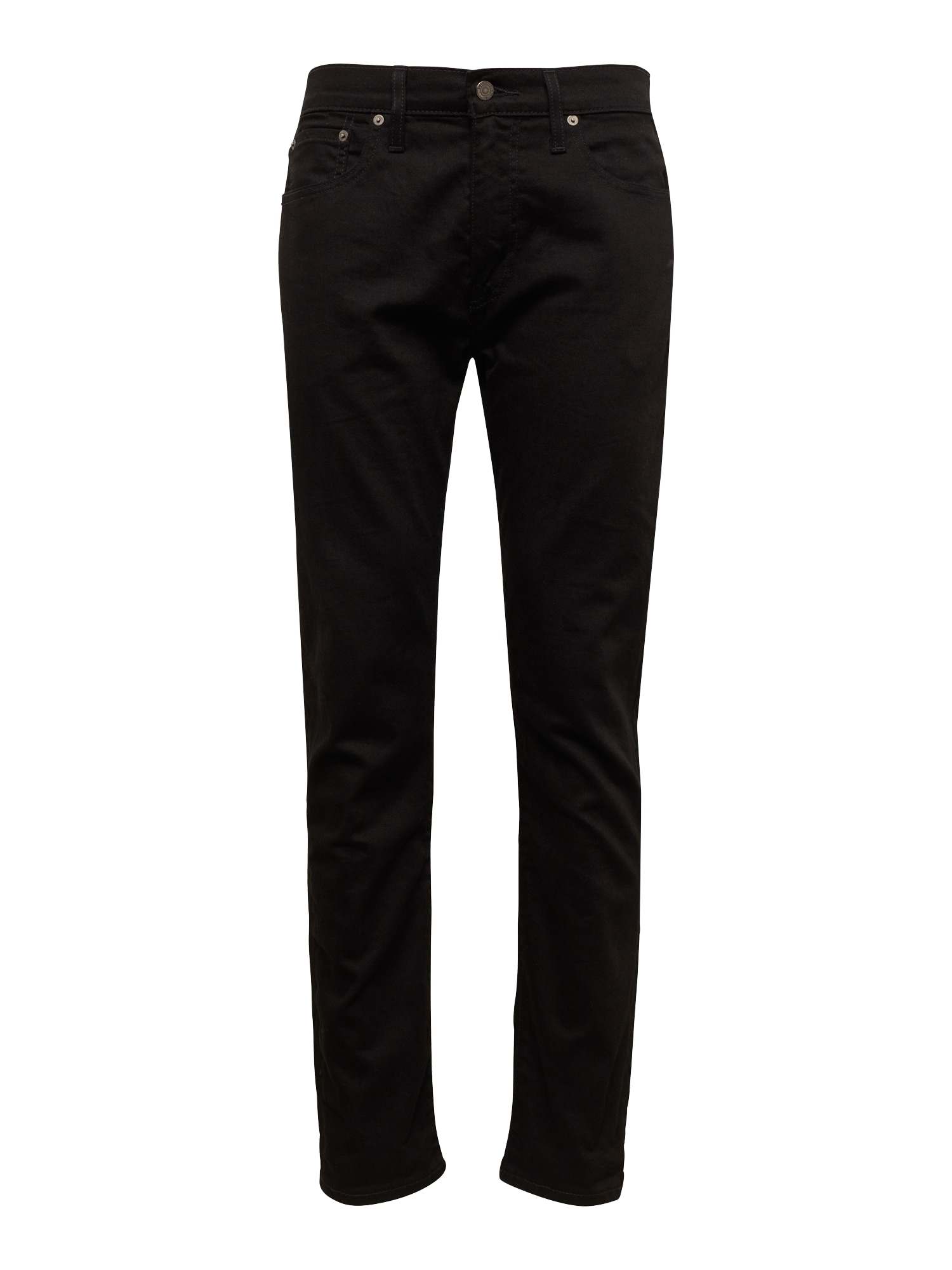 LEVI'S Heren Jeans 502™ REGULAR TAPER black denim