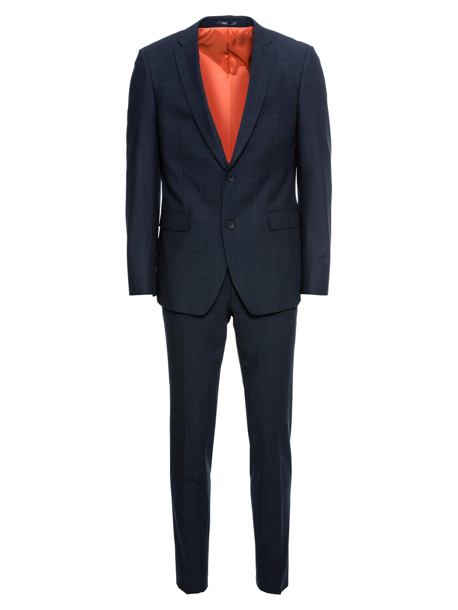 Oblek F actv glenchec námořnická modř Esprit Collection
