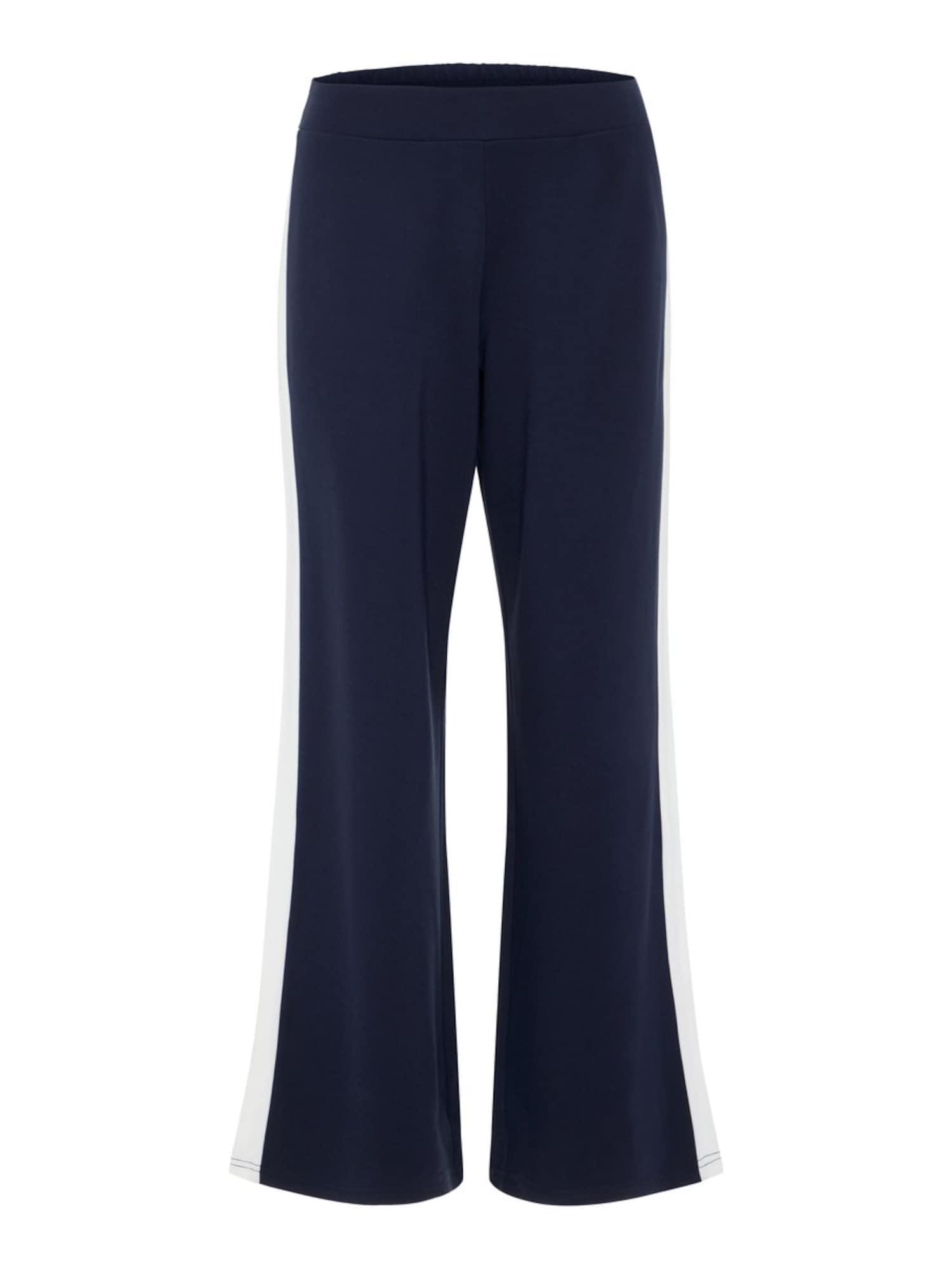 Kalhoty Power námořnická modř bílá Noisy May