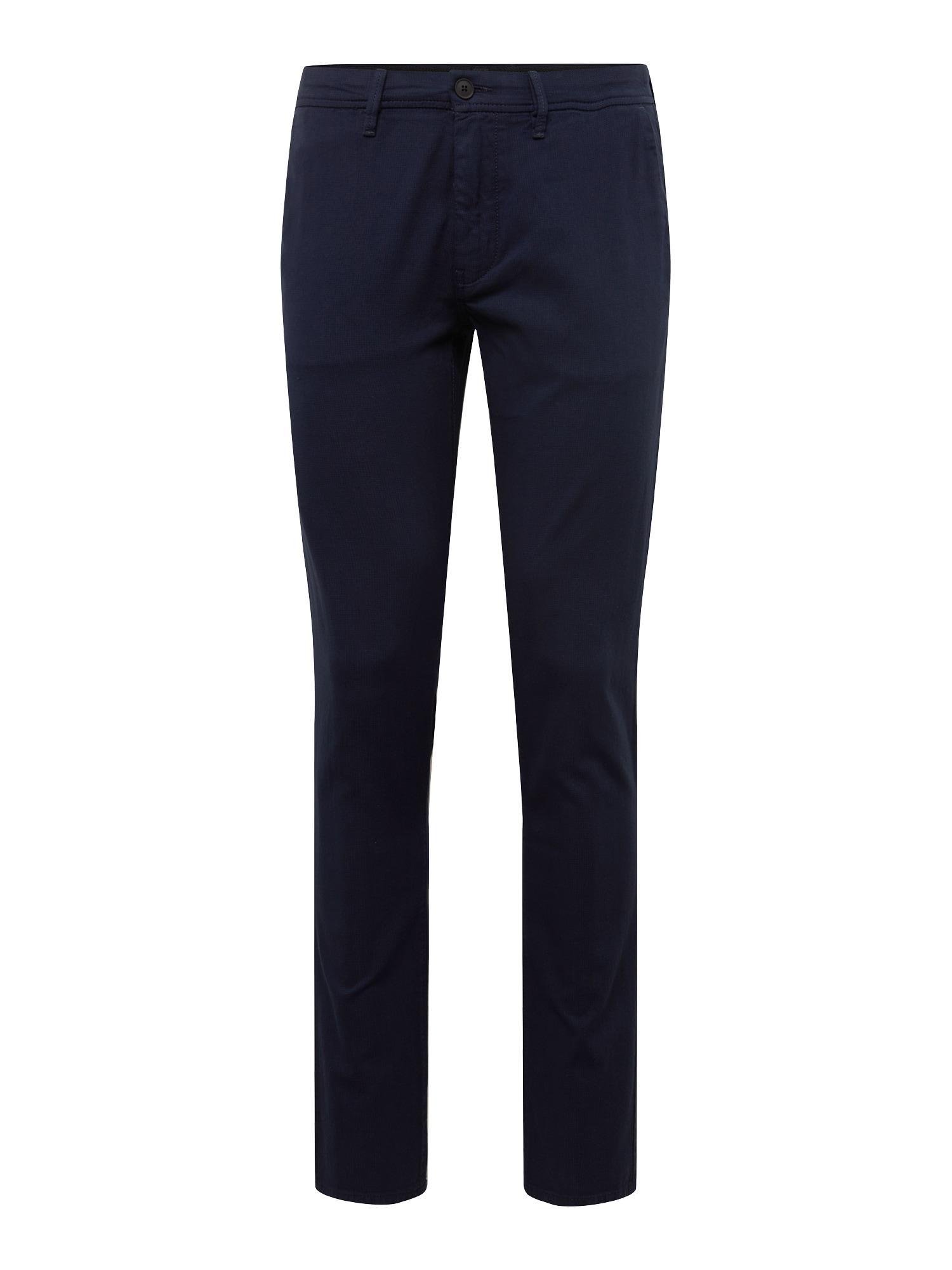Chino kalhoty tmavě modrá BOSS