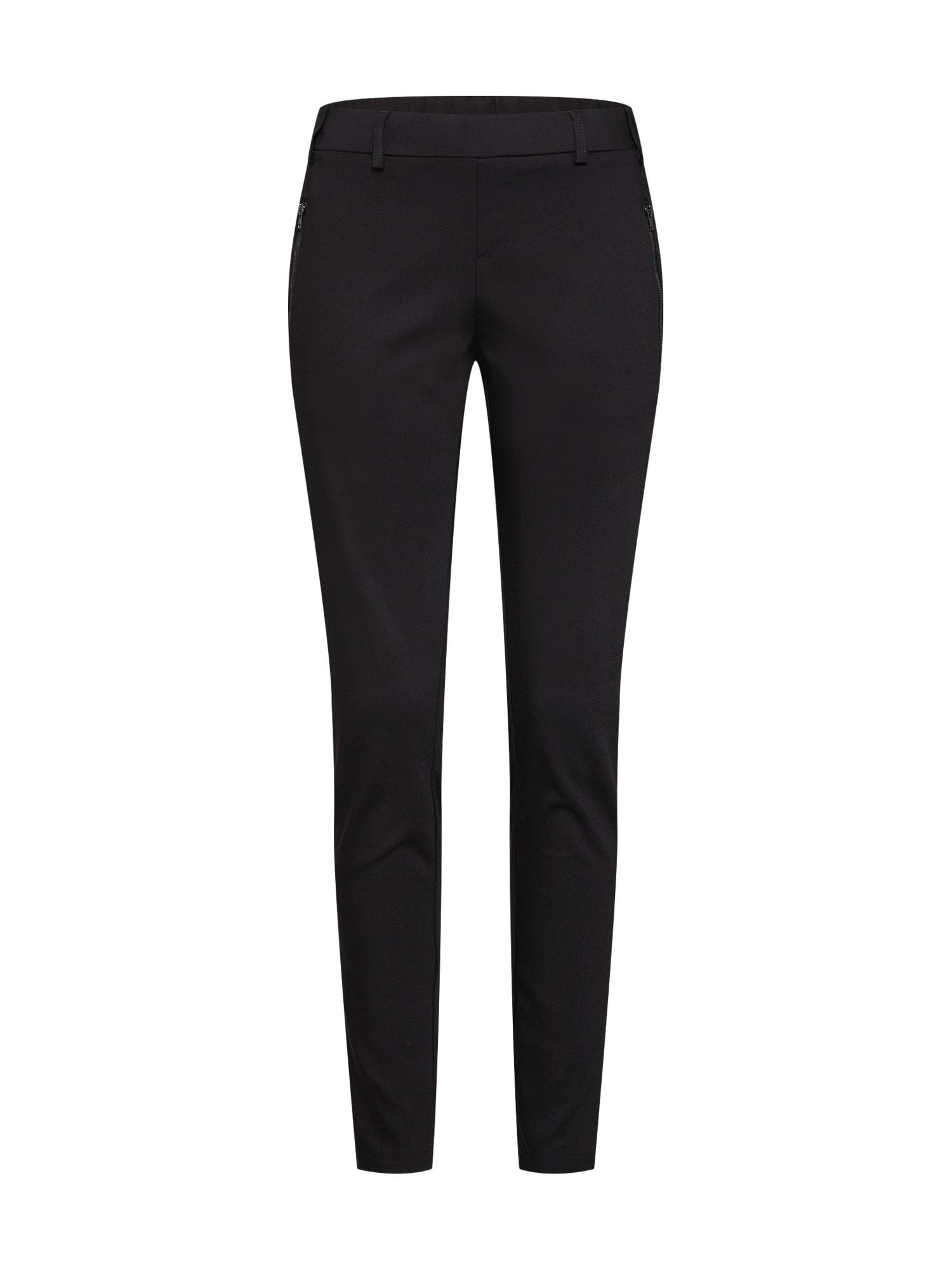 Kalhoty s puky Vera Pants černá Kaffe