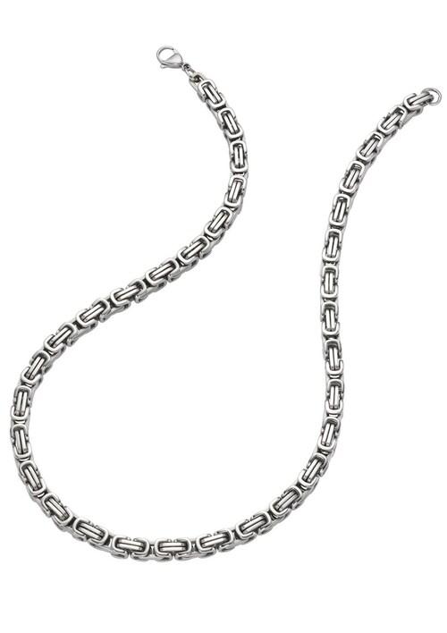 Halsschmuck: Halskette in Königskettengliederung