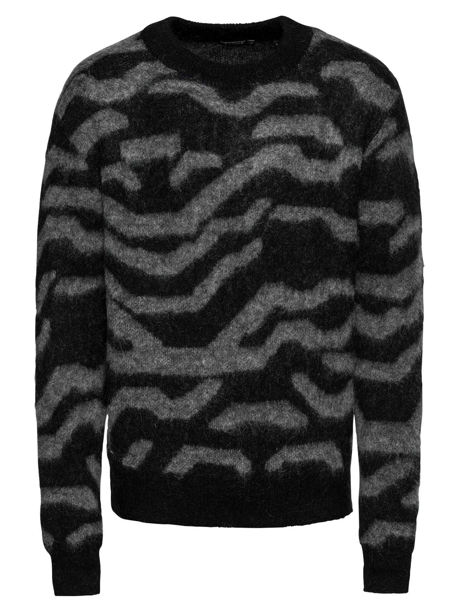 Svetr Nocks šedá černá Tiger Of Sweden