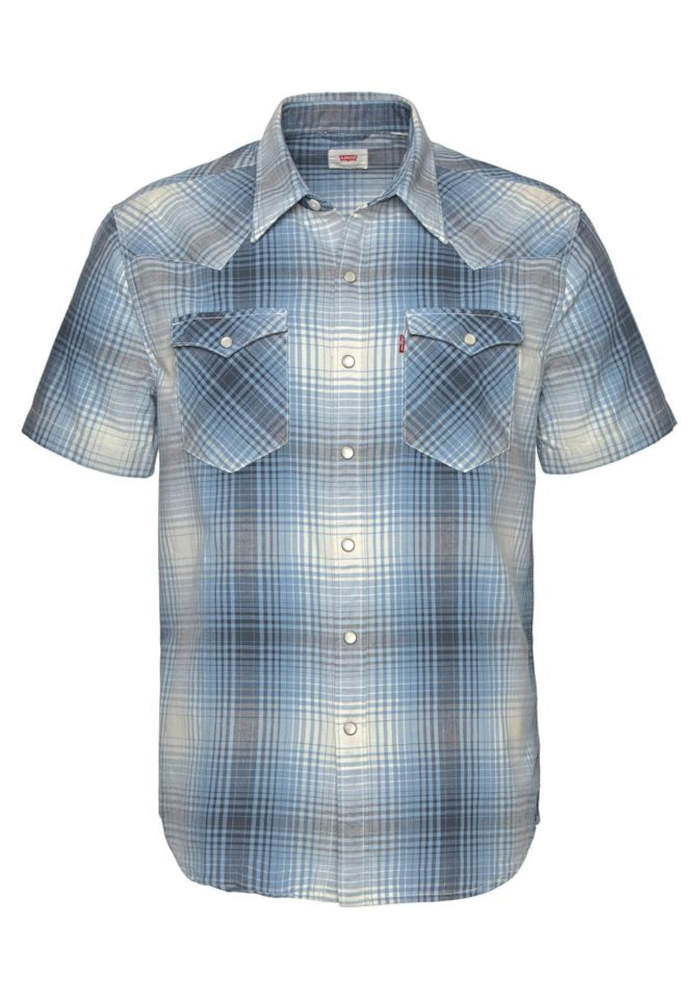 LEVI'S Heren Overhemd blauw