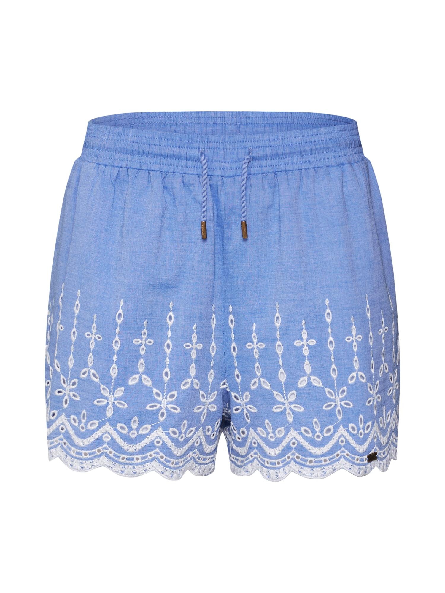 Kalhoty ANNABELLE modrá Superdry