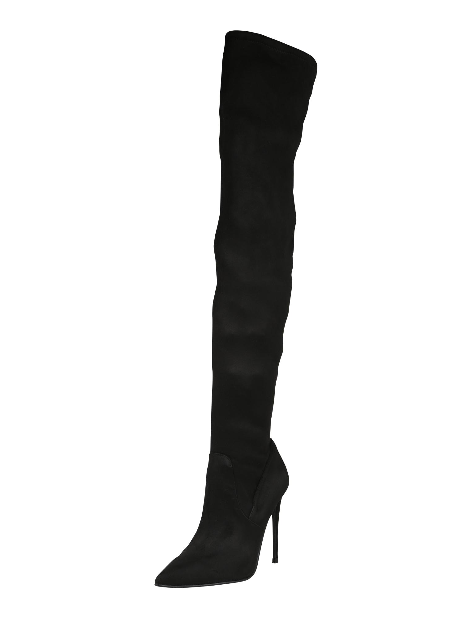 Kozačky nad kolena DADE černá STEVE MADDEN