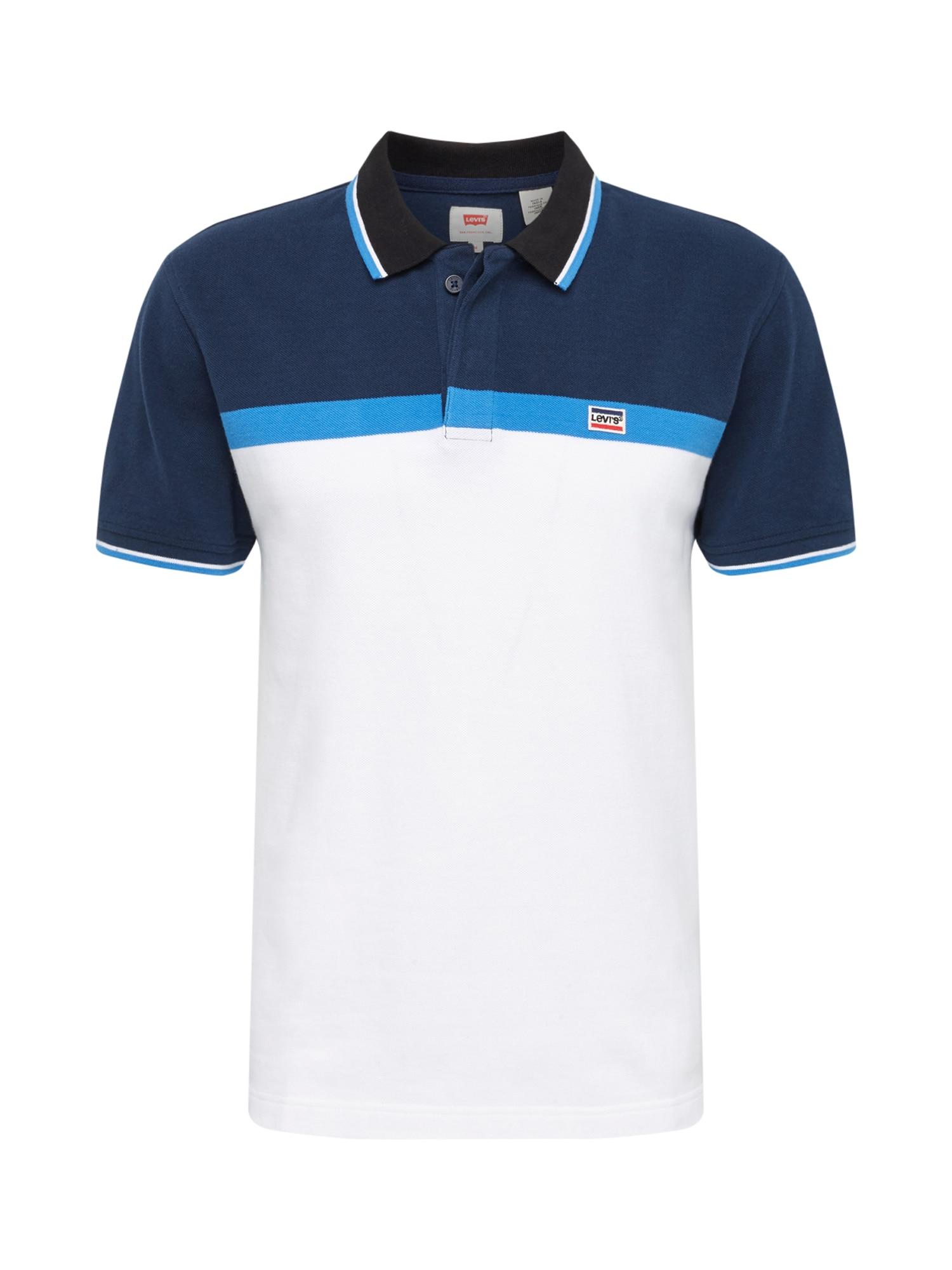 LEVIS Tričko SPORTSWEARPOLO modrá bílá LEVI'S